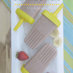 Healthy Chocolate Banana Split Popsicle Recipe