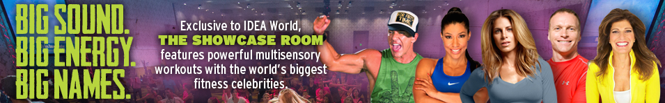 IDEA World Fitness Convention Celebrity Speakers