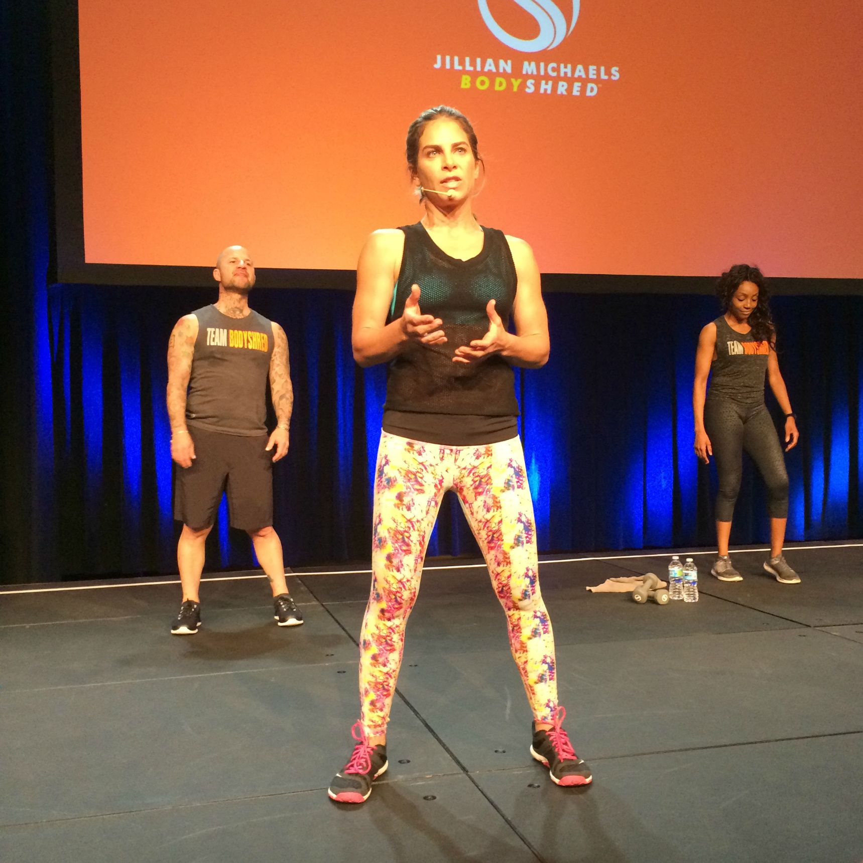 Jillian Michaels BodyShred at IDEA