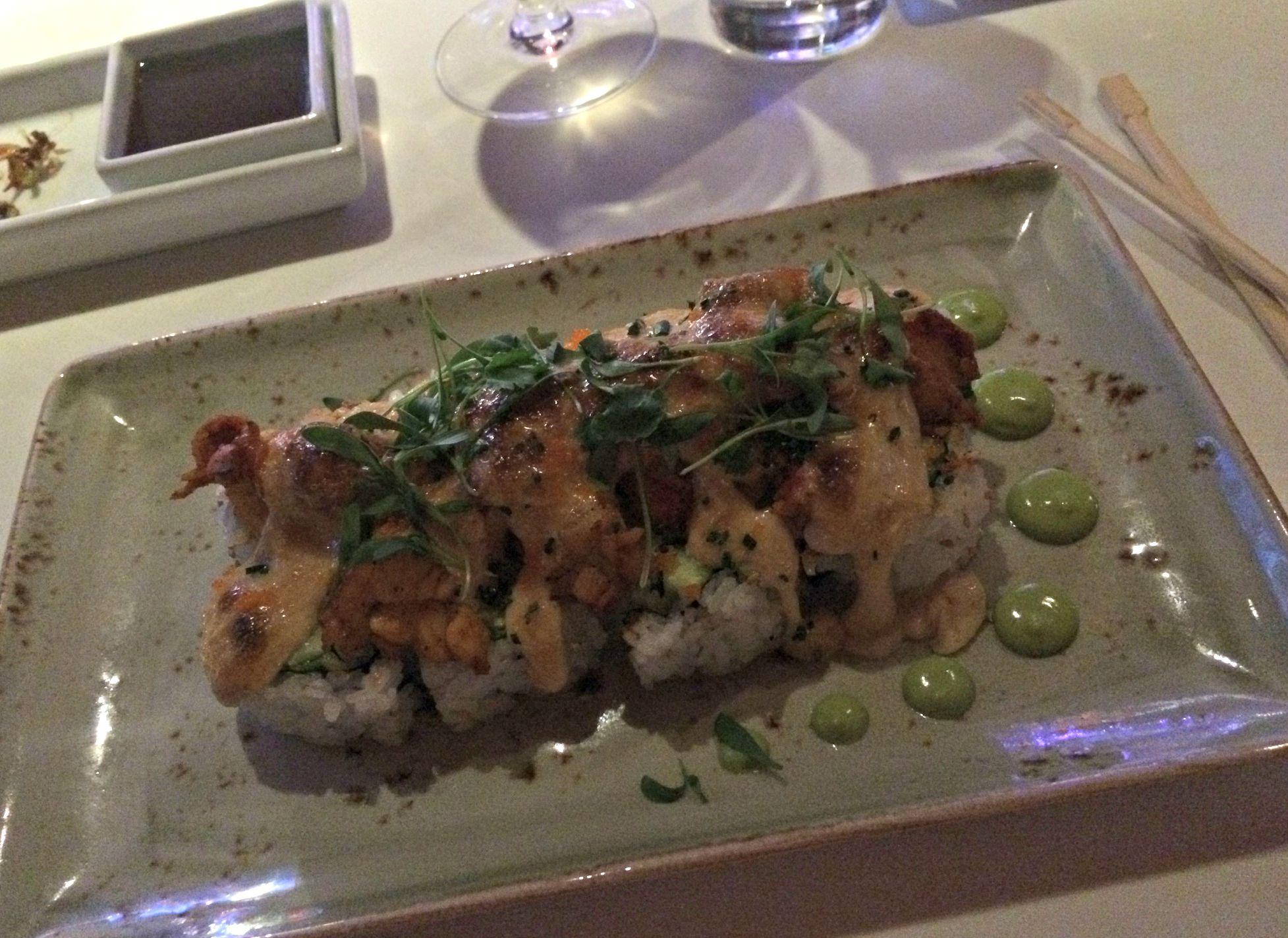 Katsuya la live lobster roll