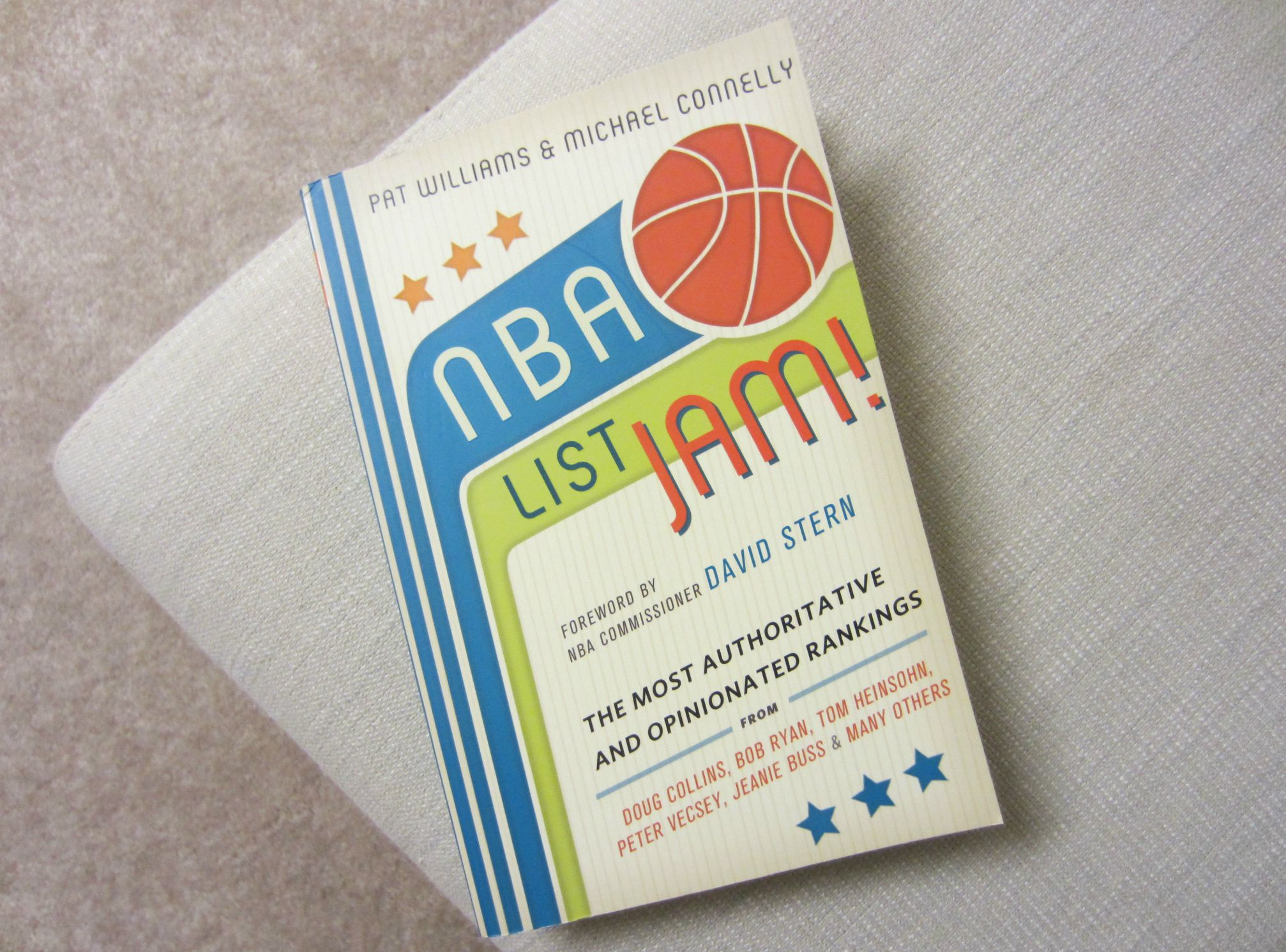 NBA List Jam! book