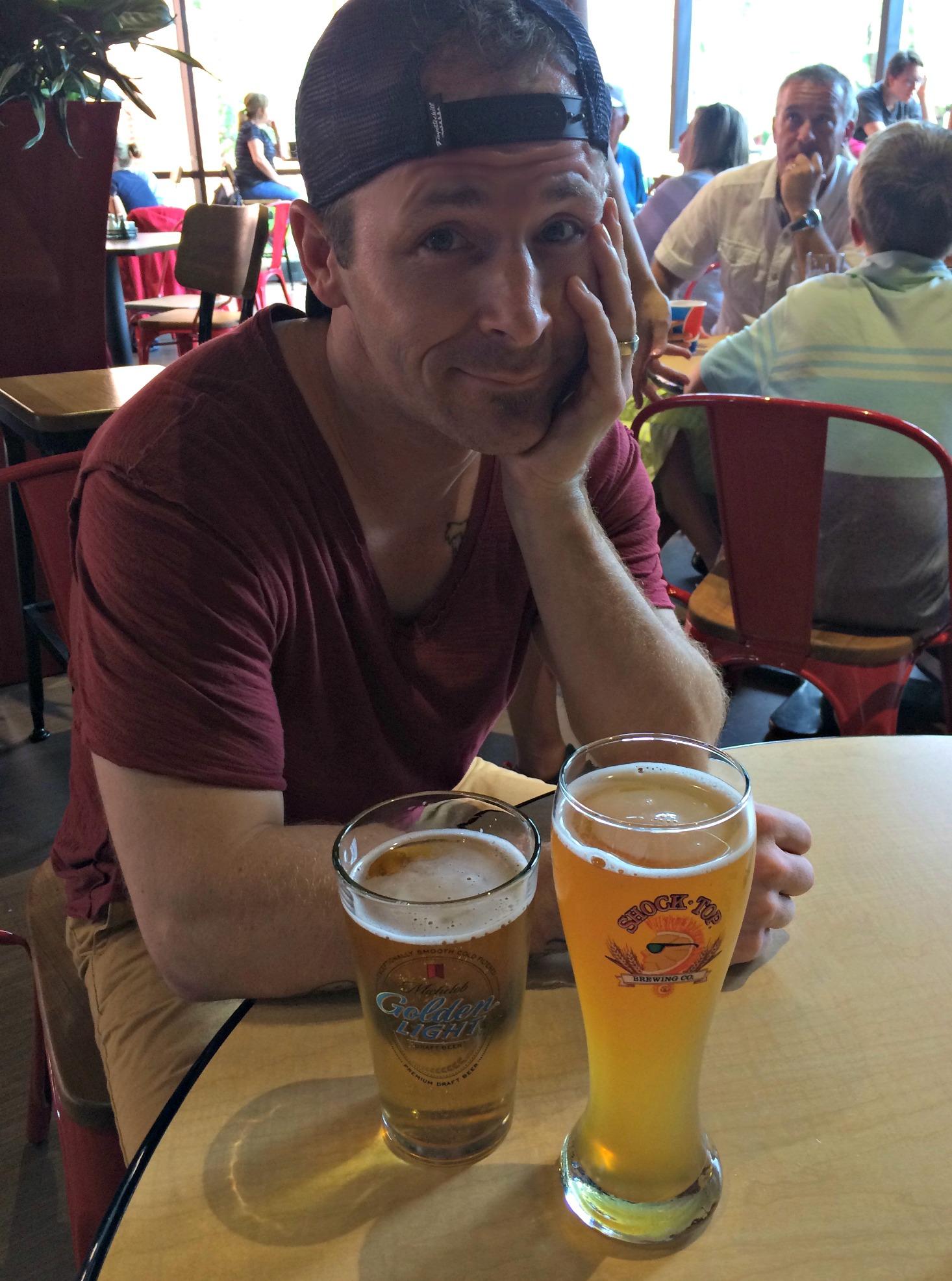 Scott at the Budweiser Beer Tour