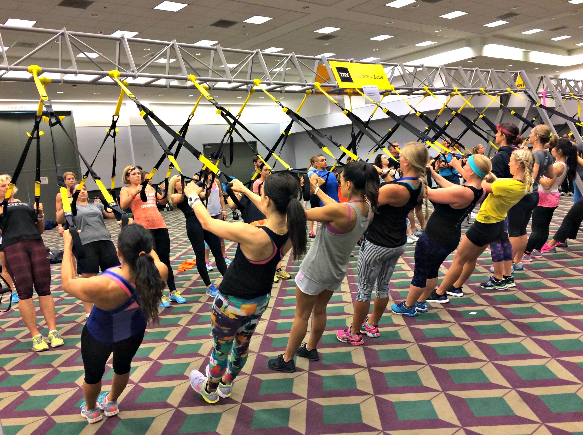 TRX modality class at IDEA
