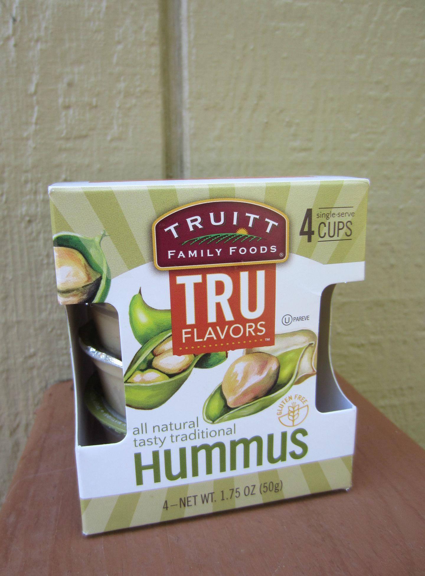 Truitt tru flavors hummus to go packs