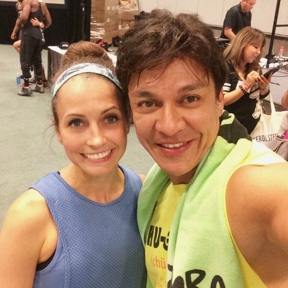 after zumba with beto perez