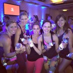 bloggers at IDEA after jillian michaels BODYSHRED