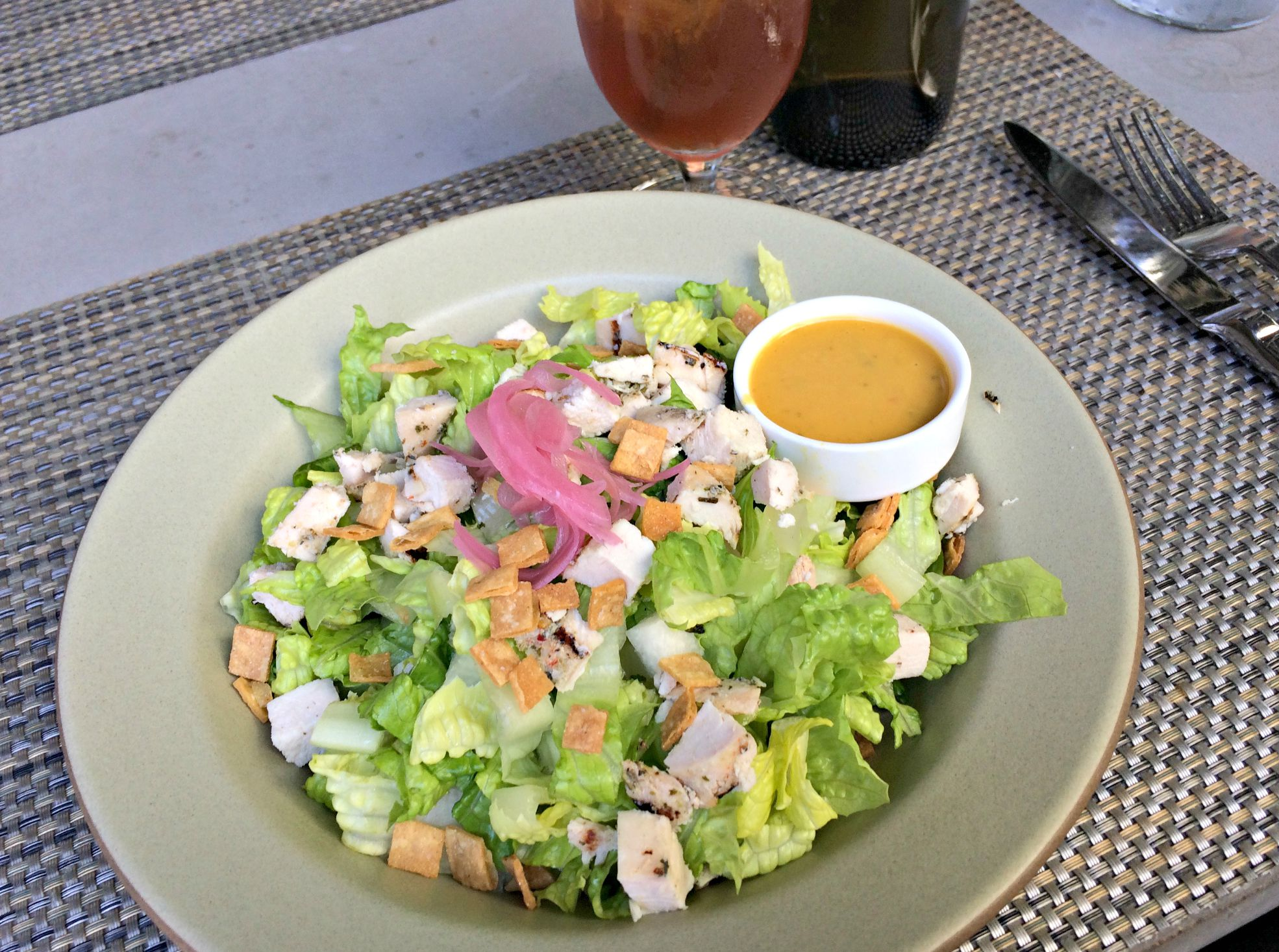 chicken chopped salad the filling station