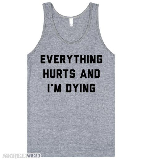 dramatic workout tank