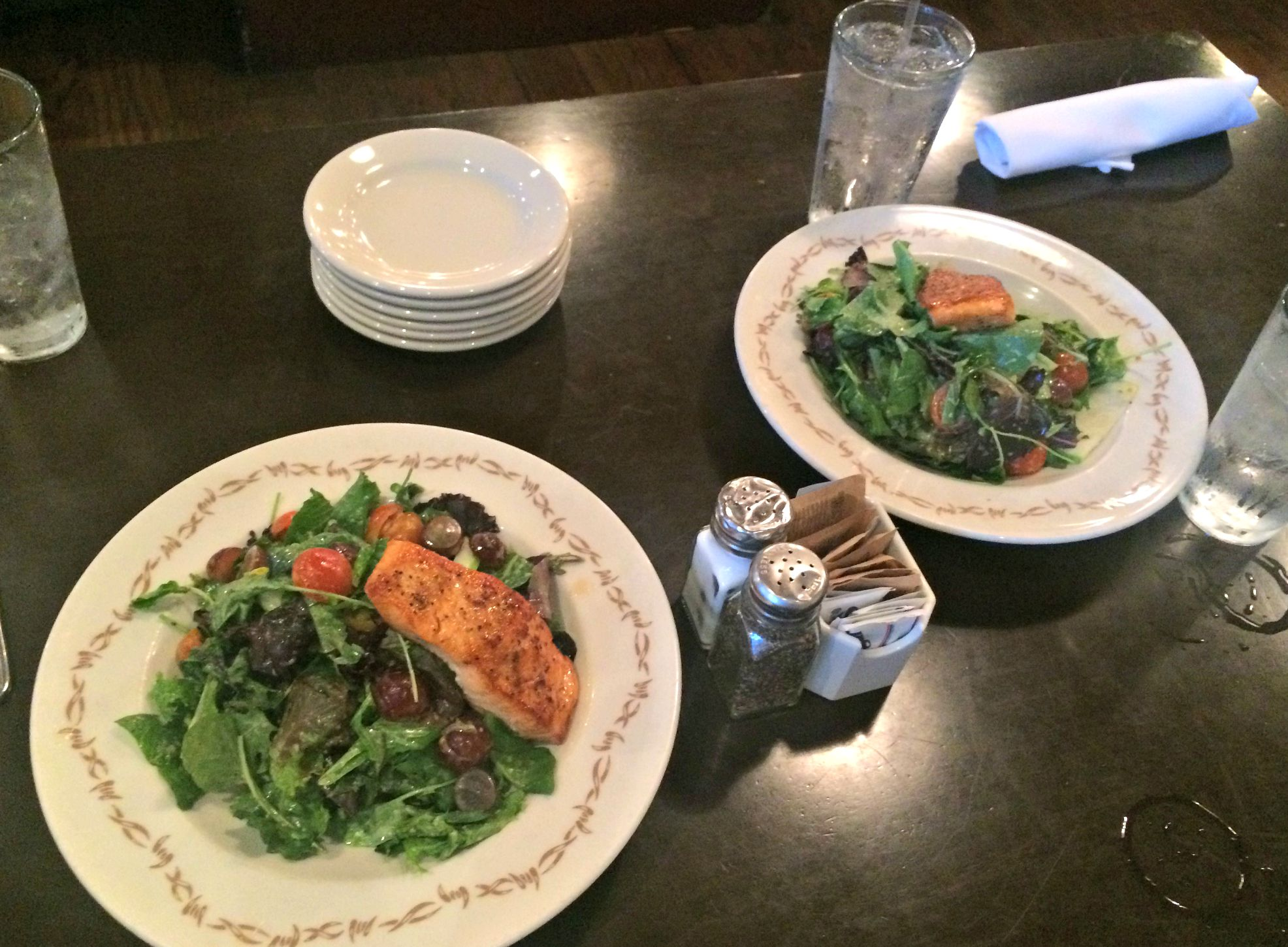 farm of beverly hills salmon salads