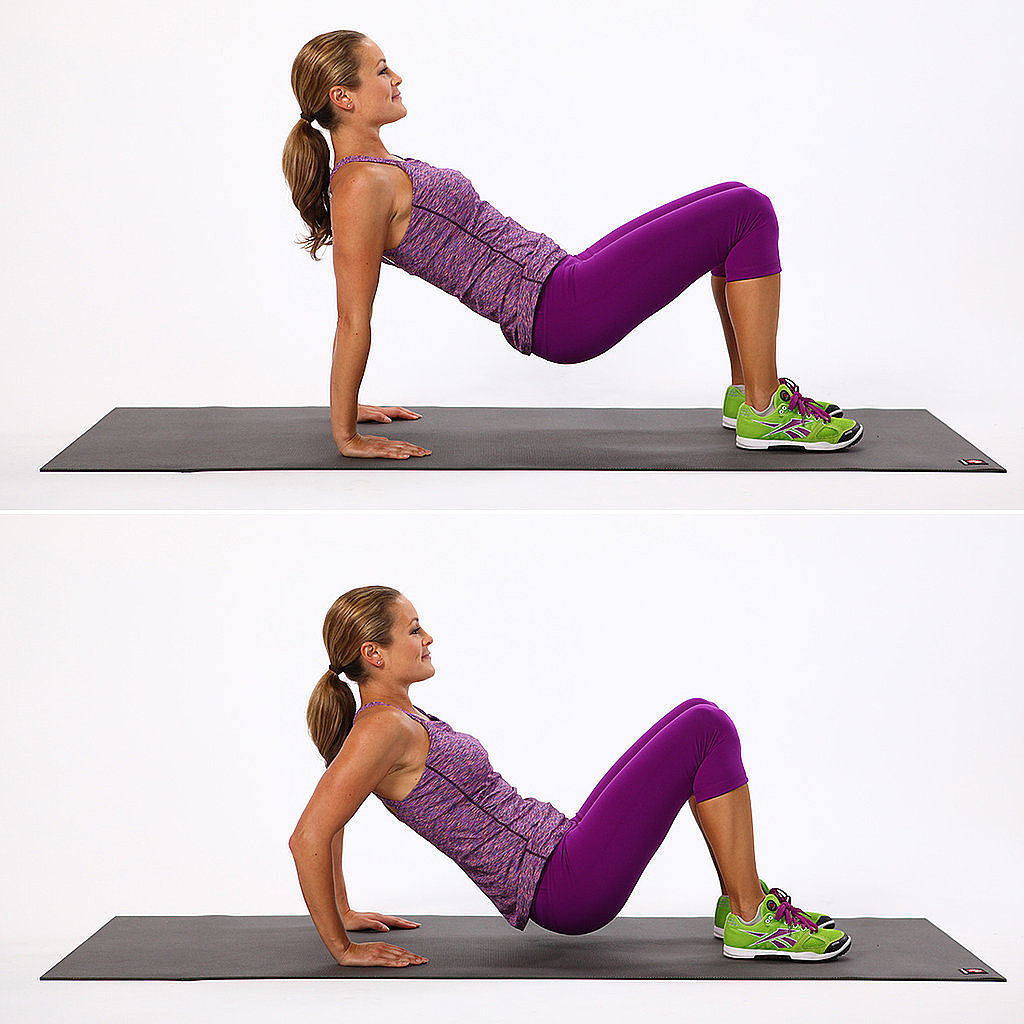 floor triceps dips