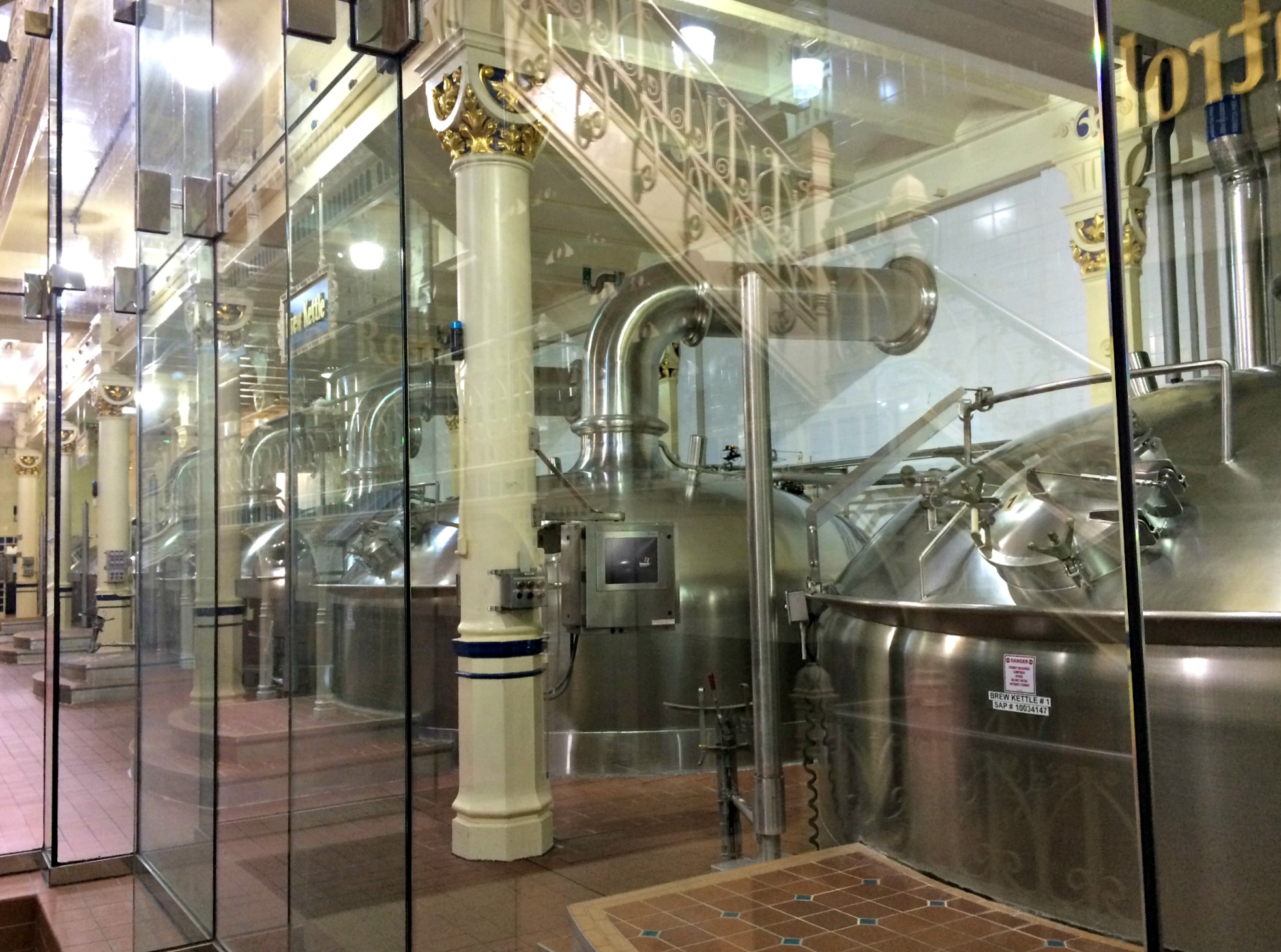 how they make beer at anheiser busch