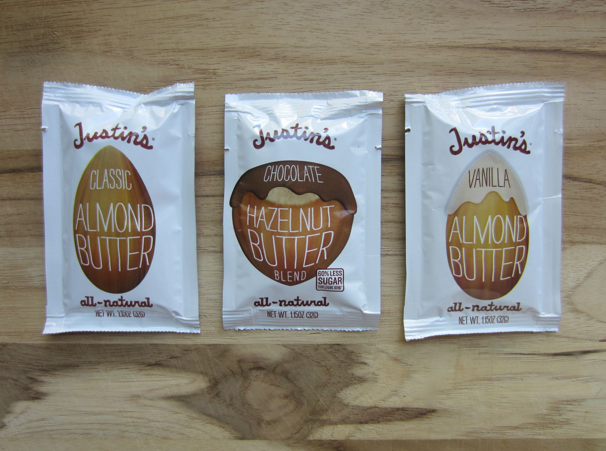 justins all natural almond butter
