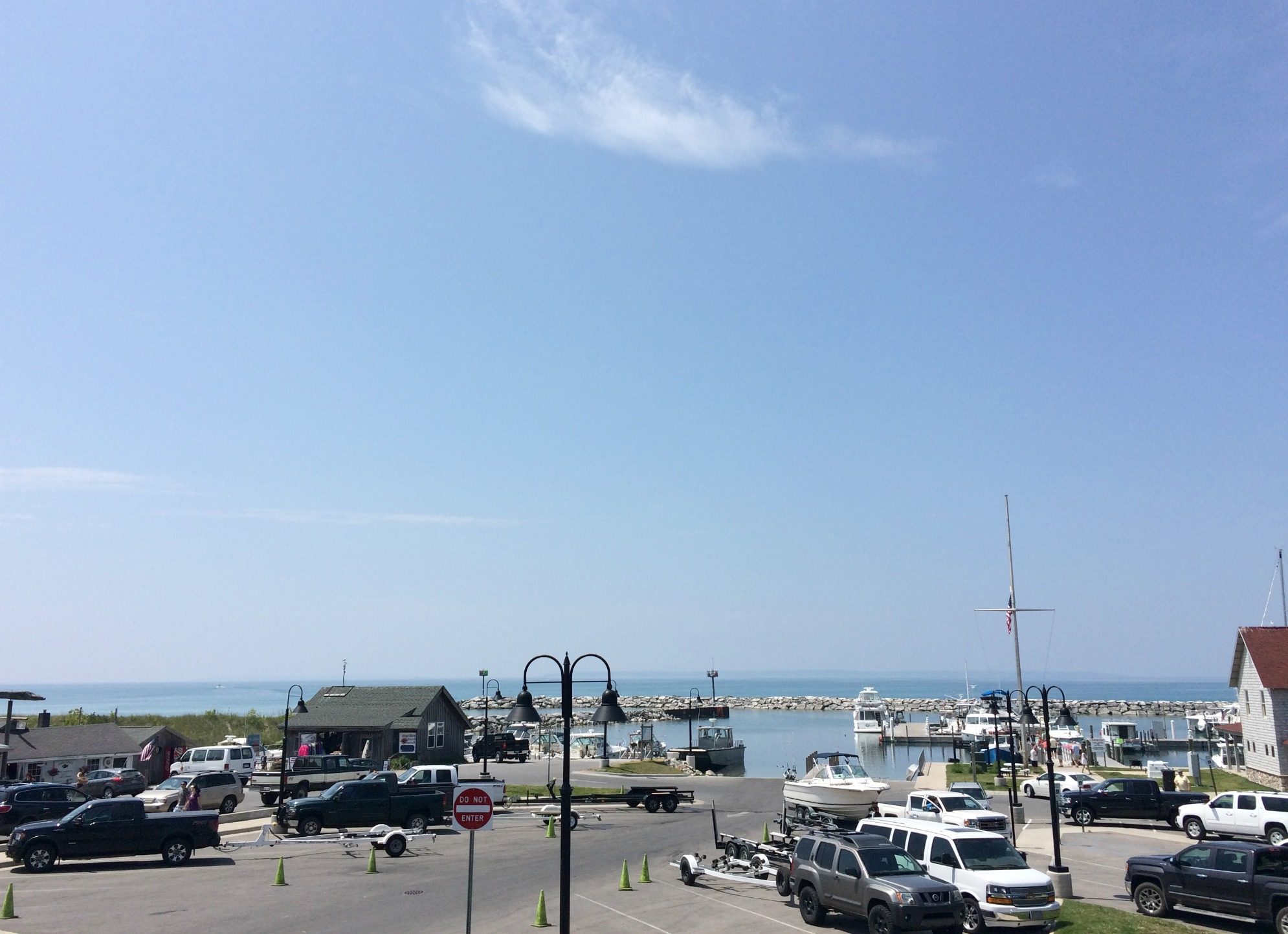 leland fishing town, mi