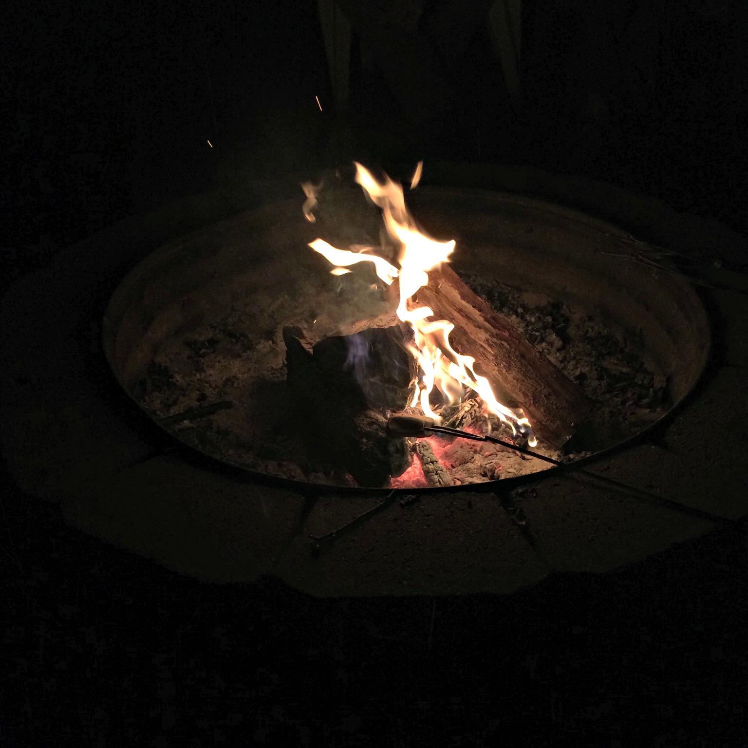 michigan summer bonfire