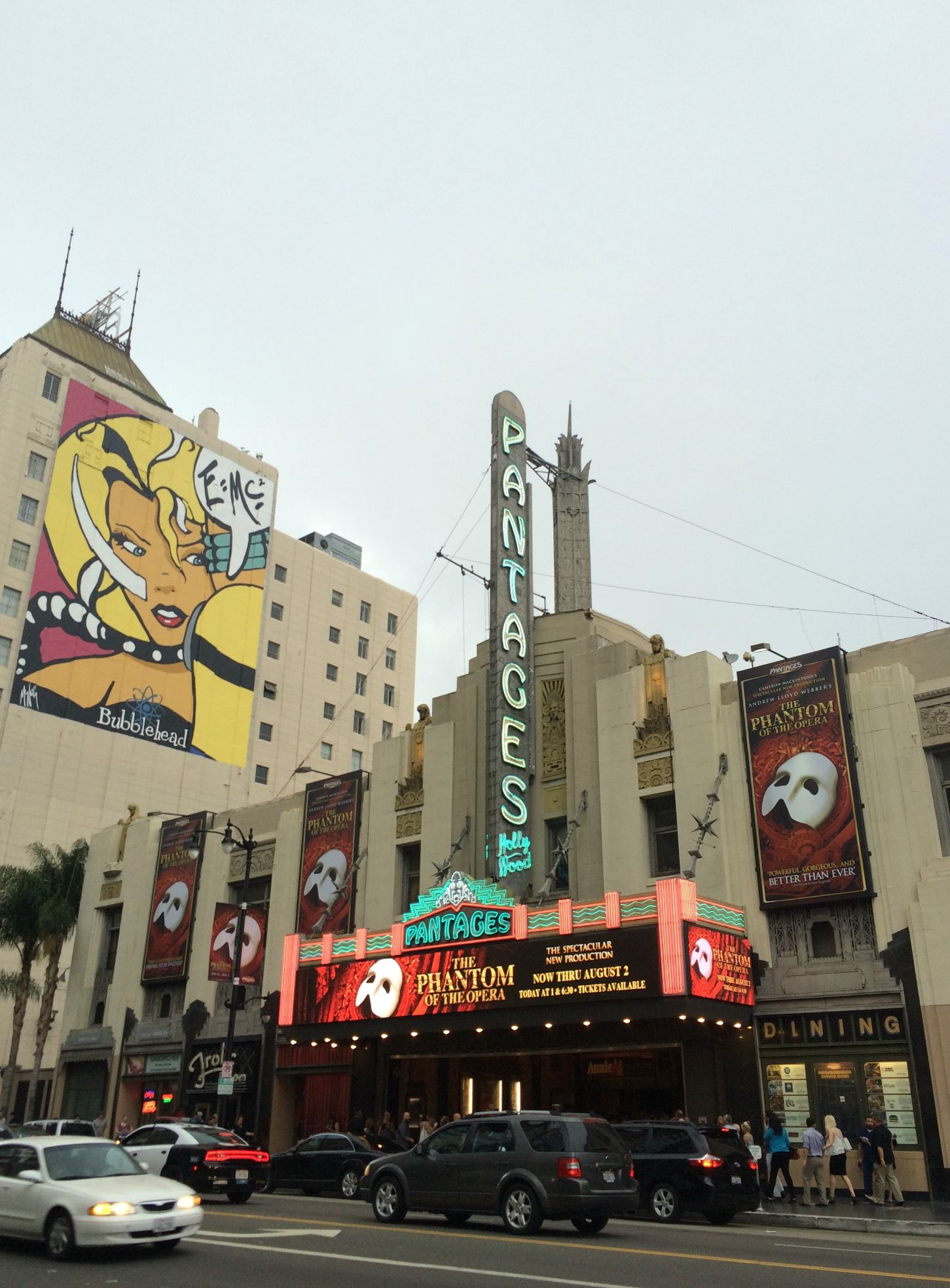 pantages hollywood theater