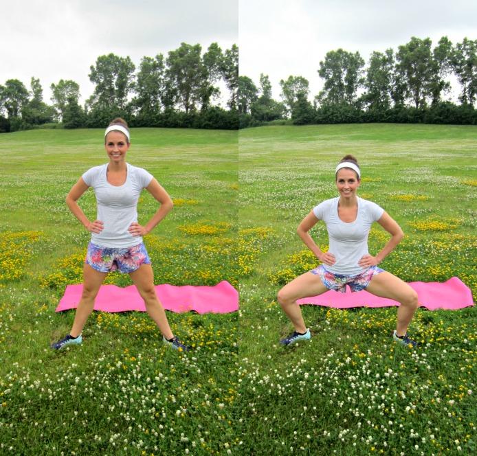 plie squats exercise