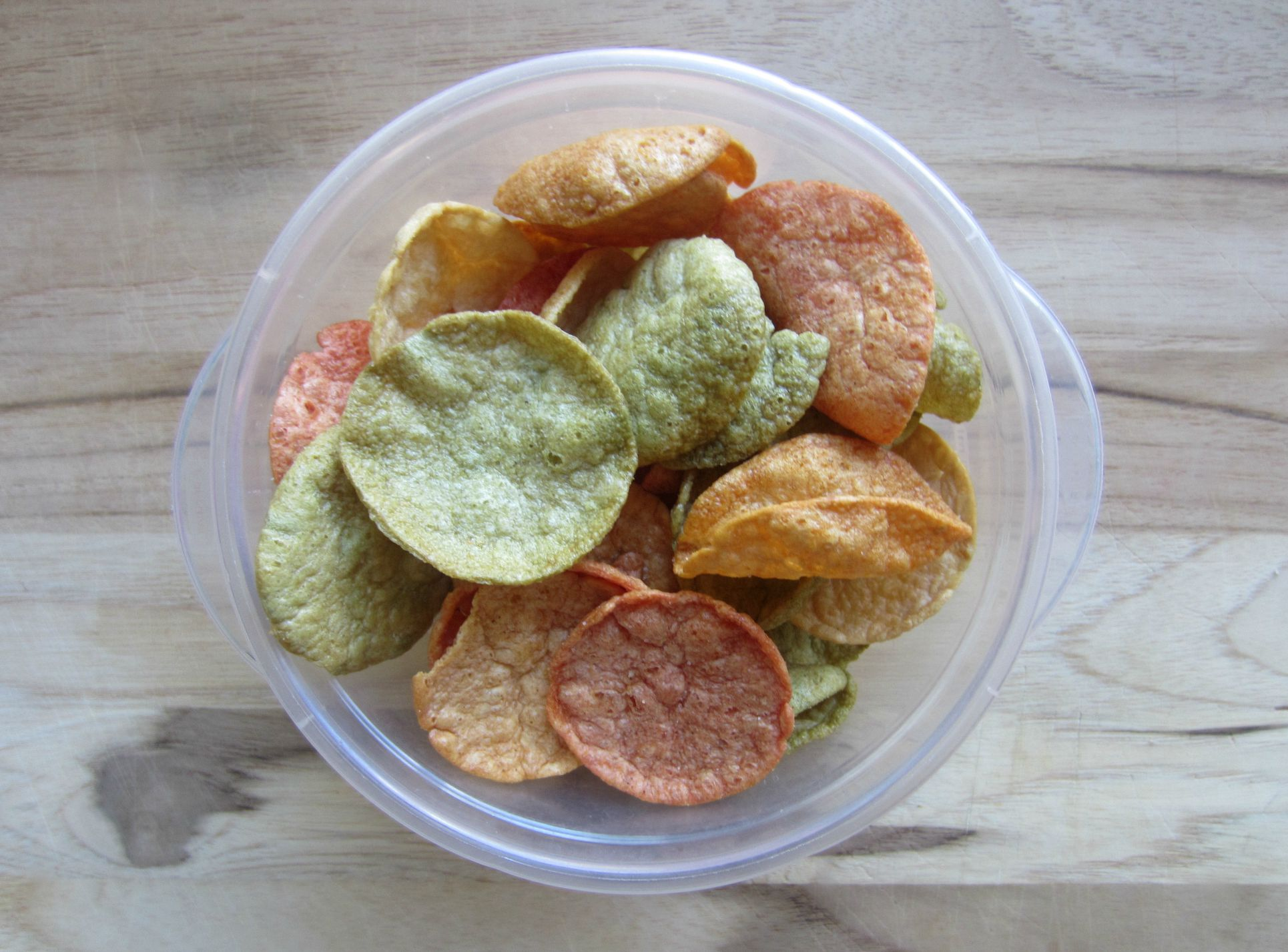 popchips sea salt and veggie crisps