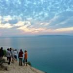 Hiking Pyramid Point, Lake Michigan