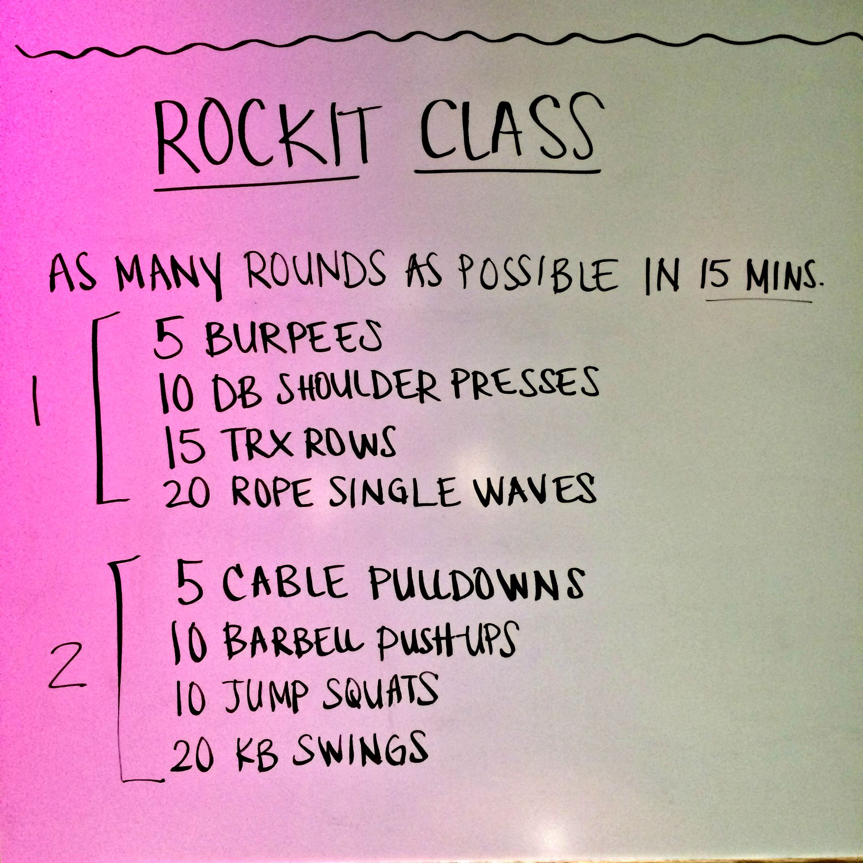rock city fitness rockit workout