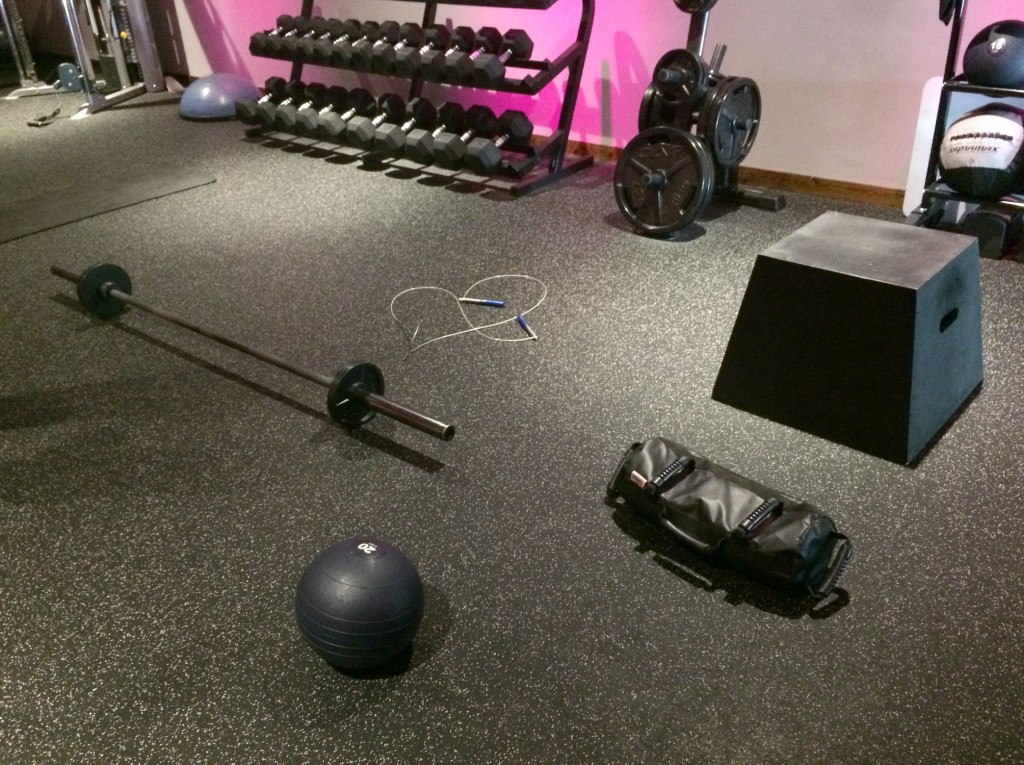 rockit workout equipment at the gym