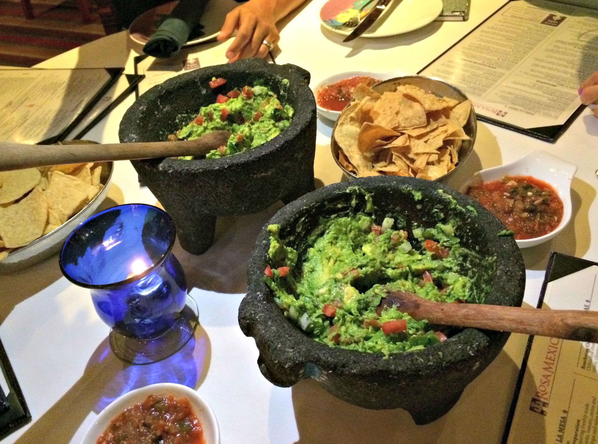 rosa mexicano tableside guacamole