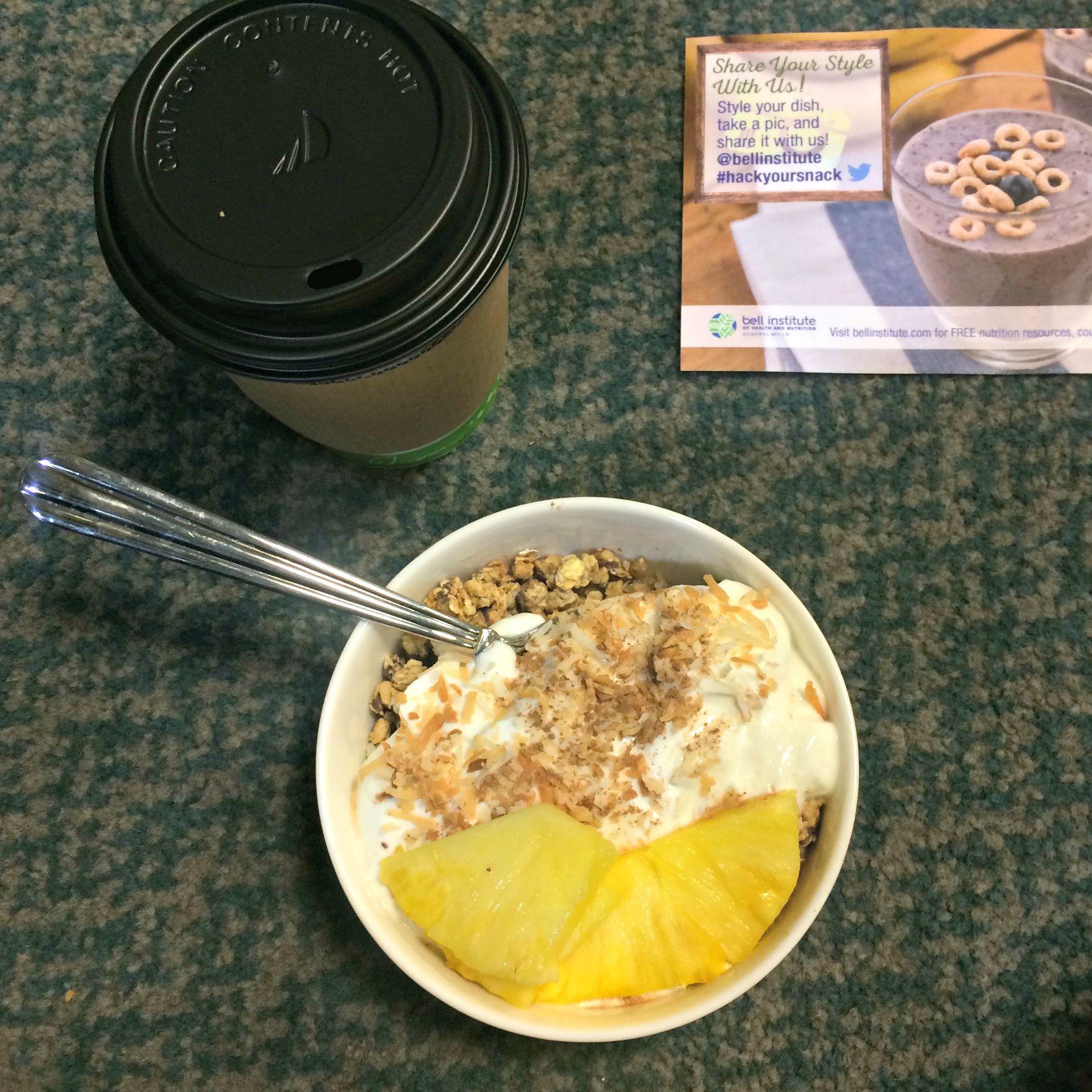 yogurt and granola bowl general mills