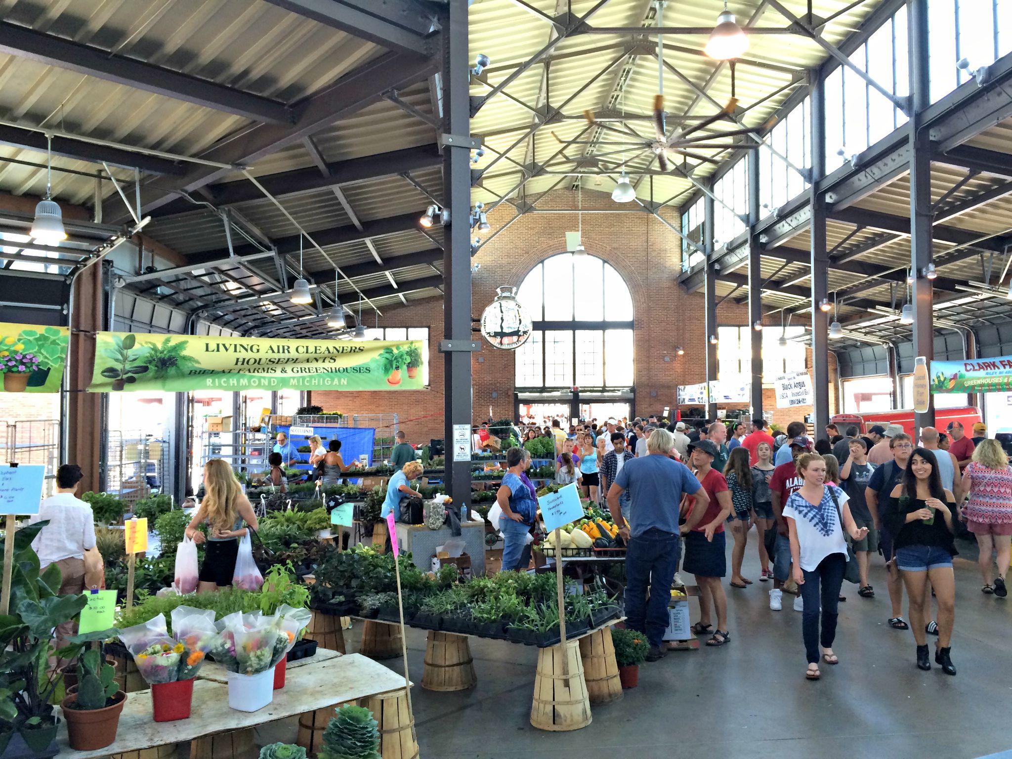 Eastern Market Detroit