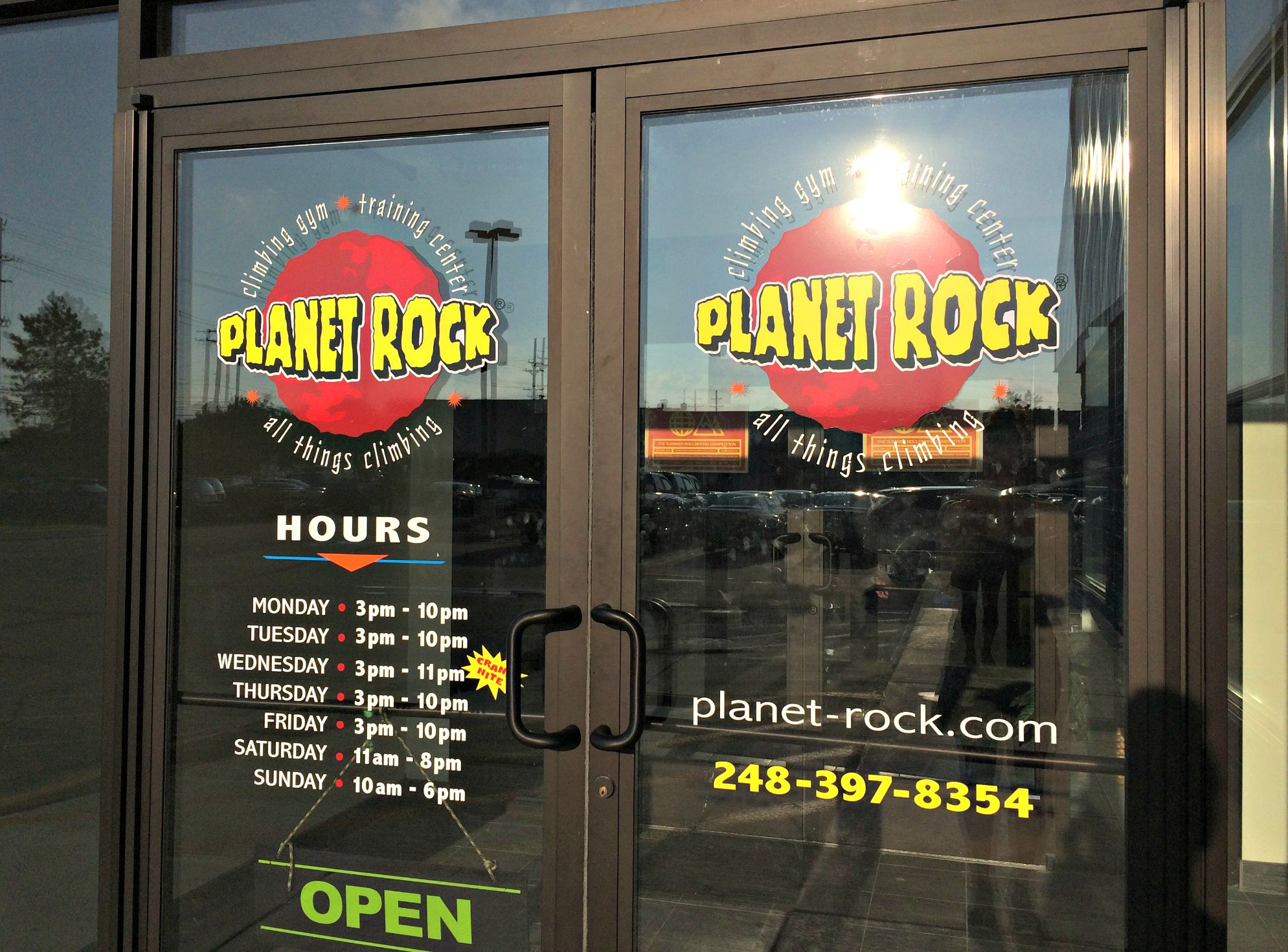 Planet Rock Climbing Gym and Training Center