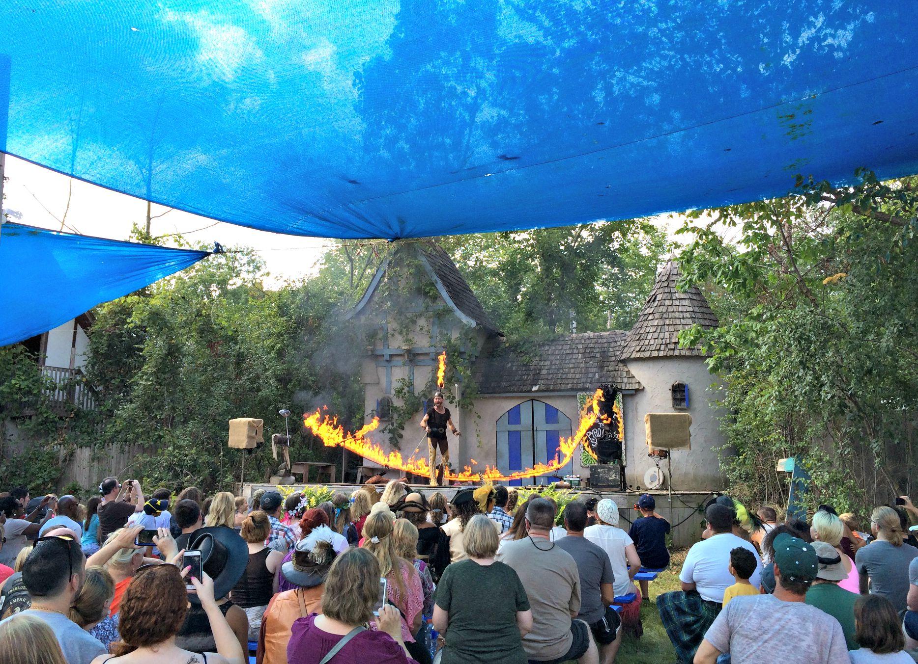 Renaissance Festival shows