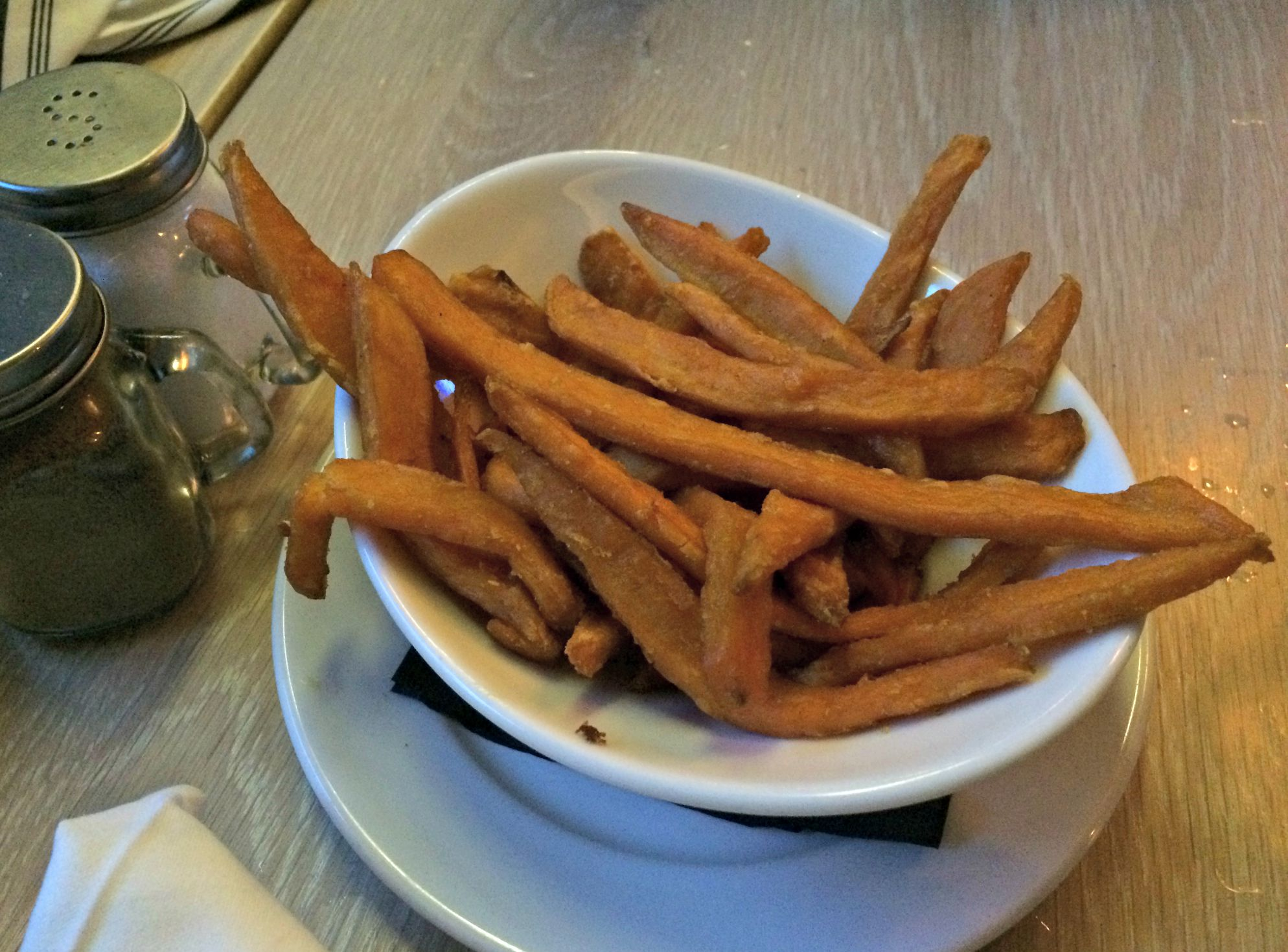 Triple Nickel Sweet Potato Fries