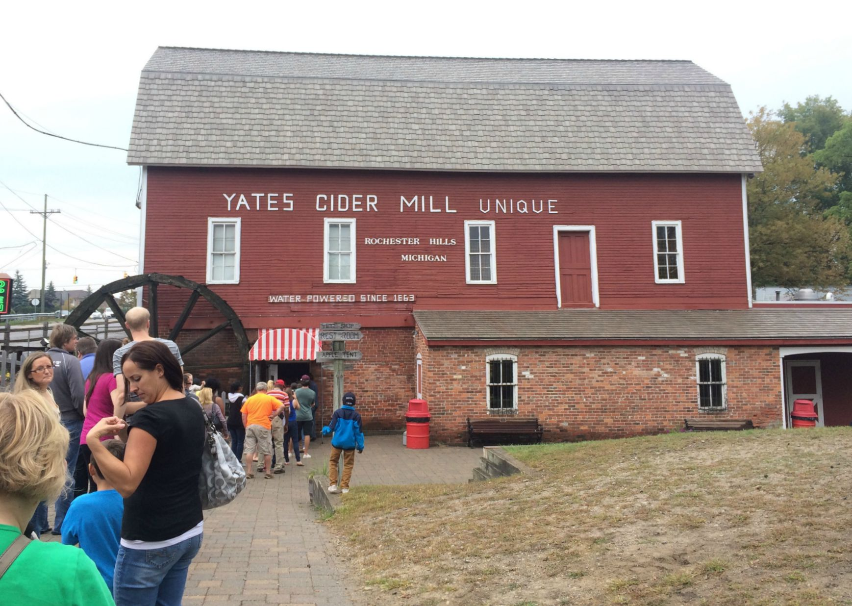 Yates cider mill is open