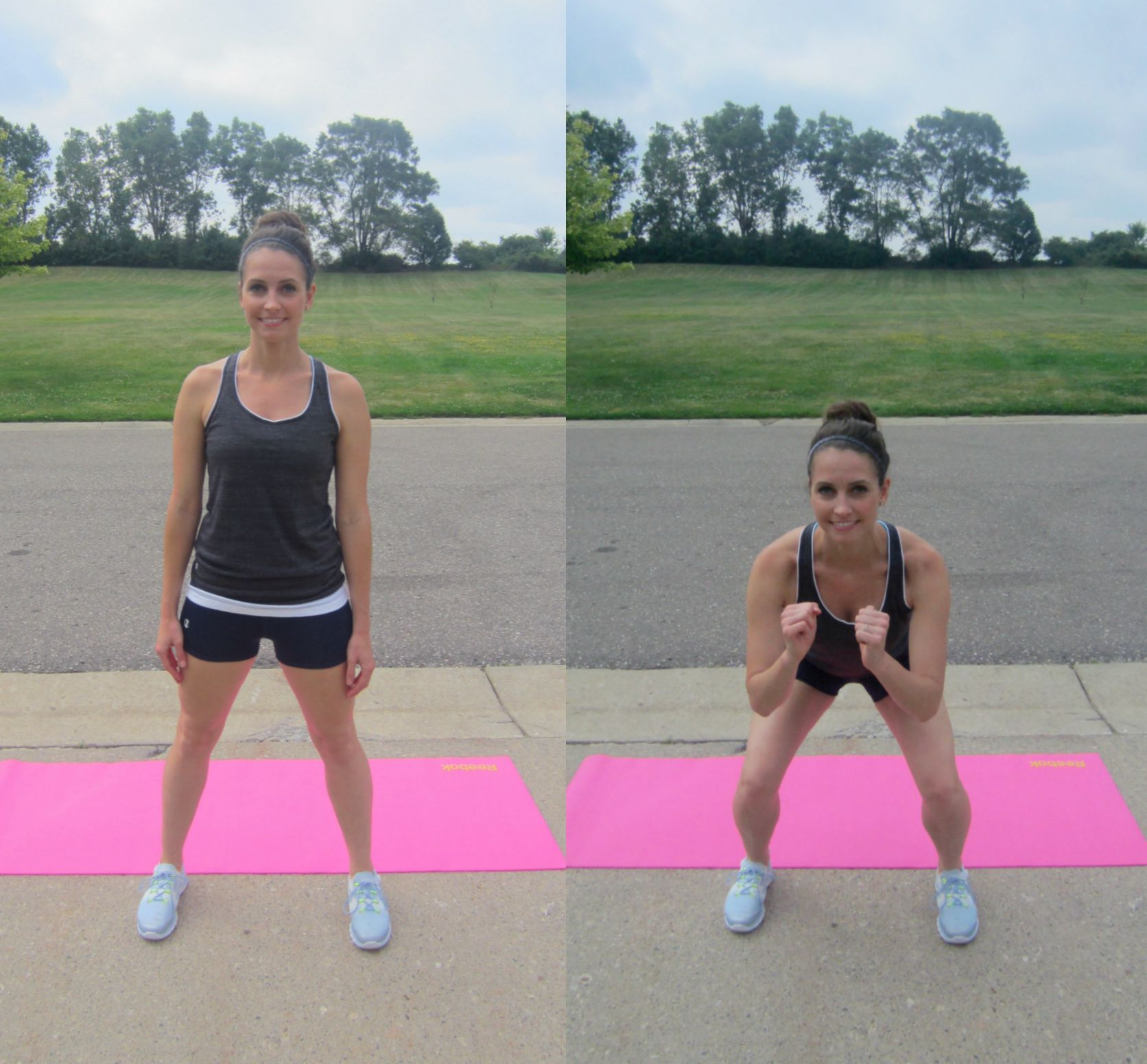air squats exercise