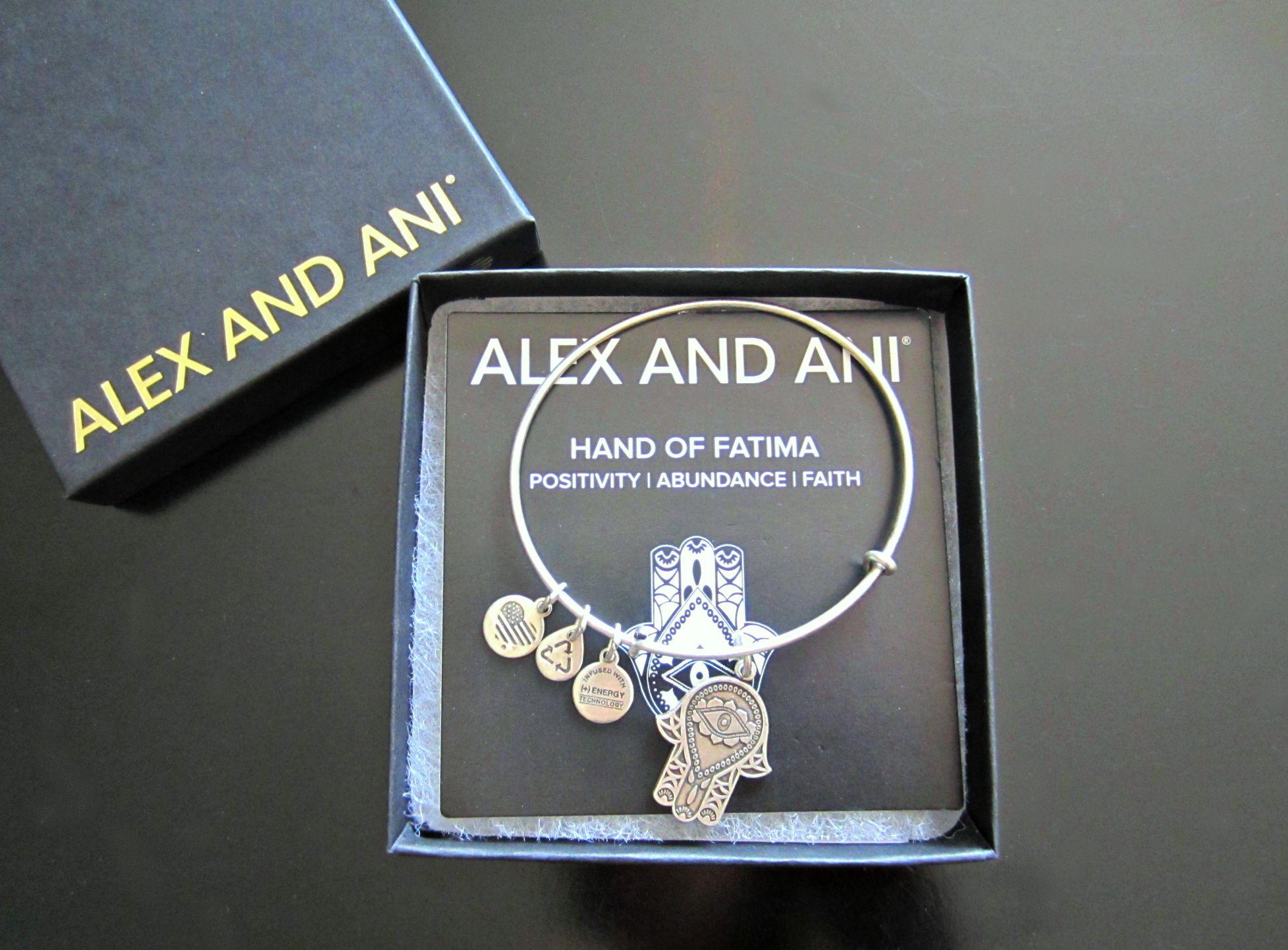 alex and ani hand of fatima charm