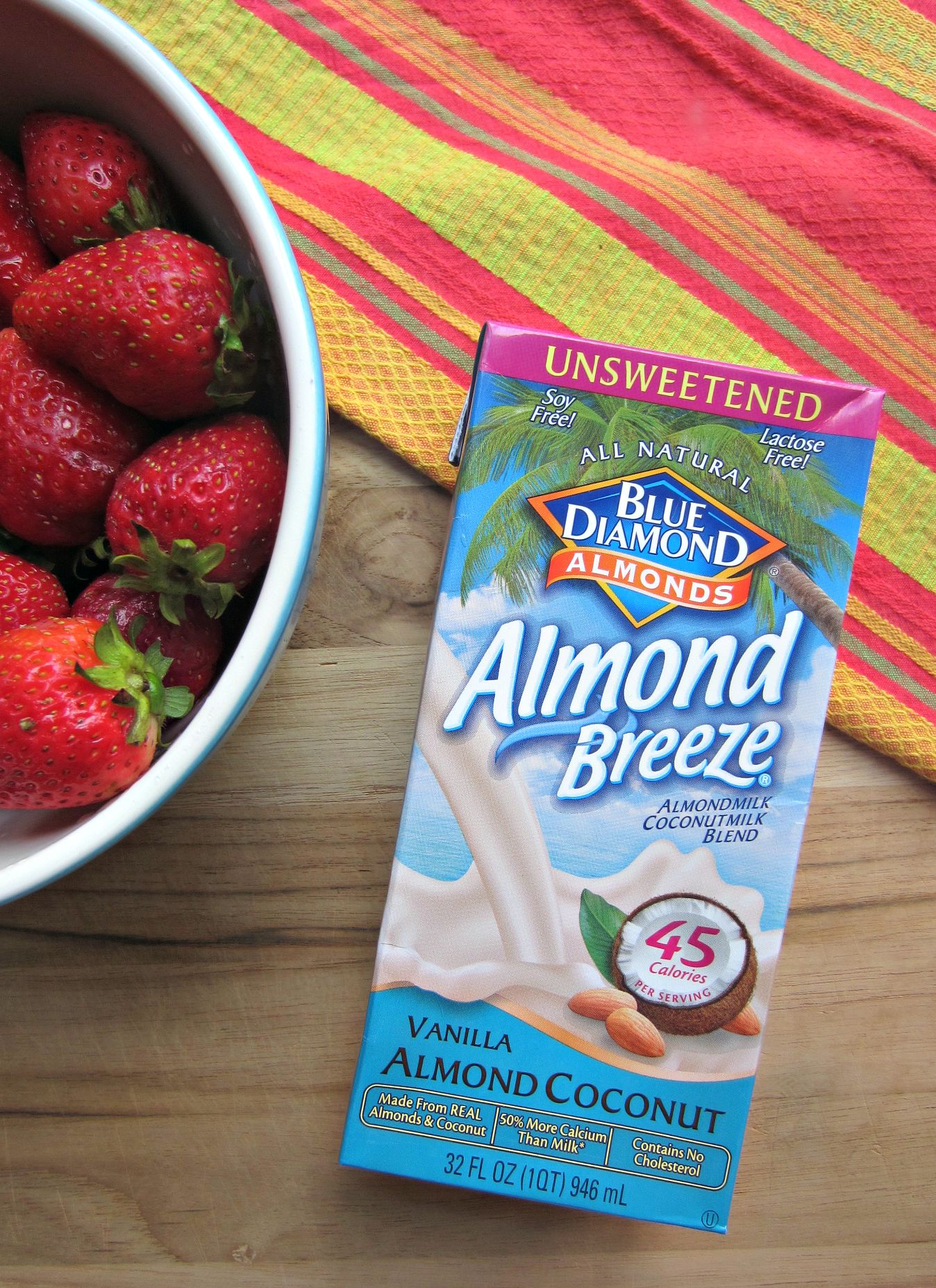 almond breeze unsweetened vanilla almond coconut milk