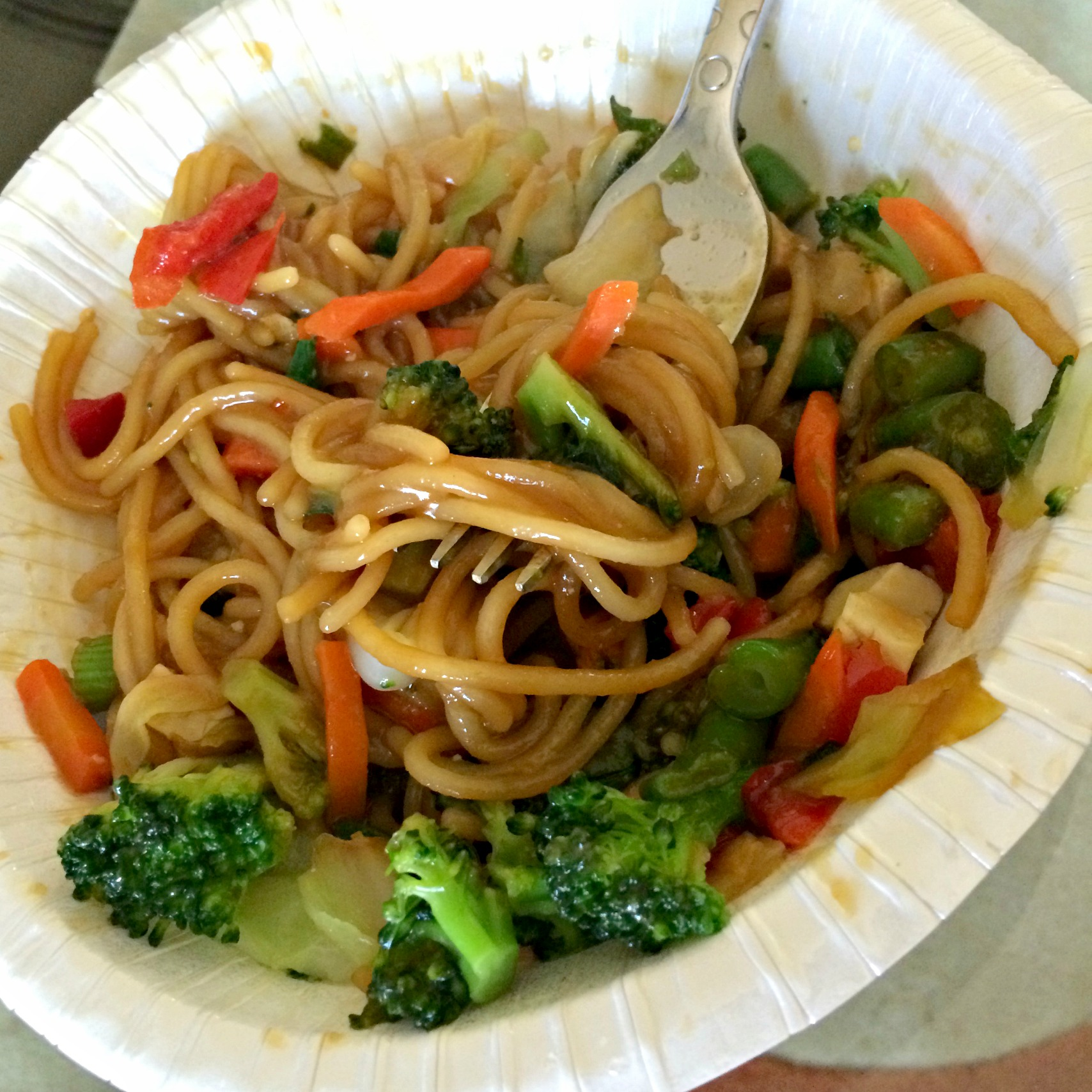 amy's sweet and sour noodles dinner