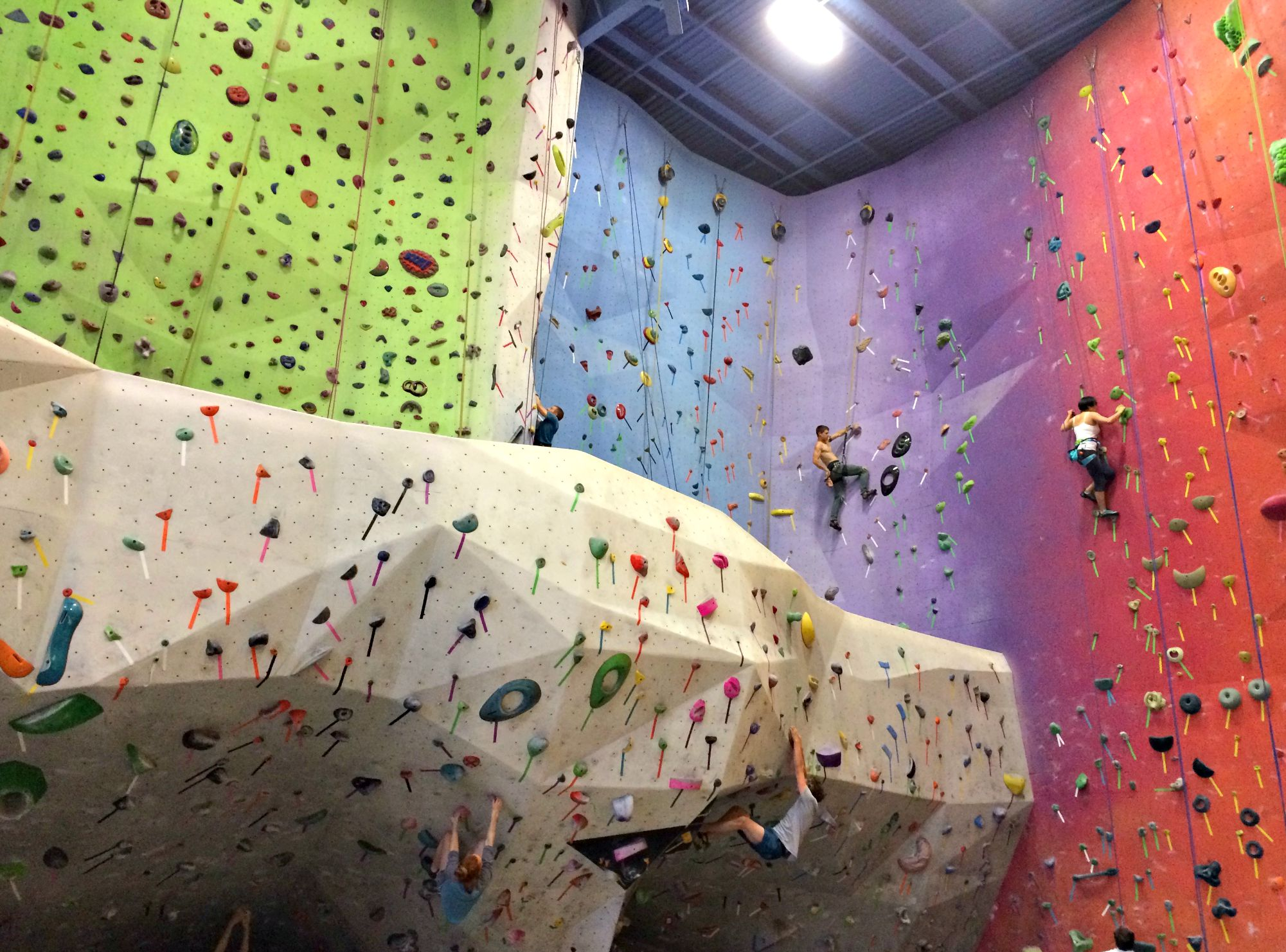 climbing gym michigan