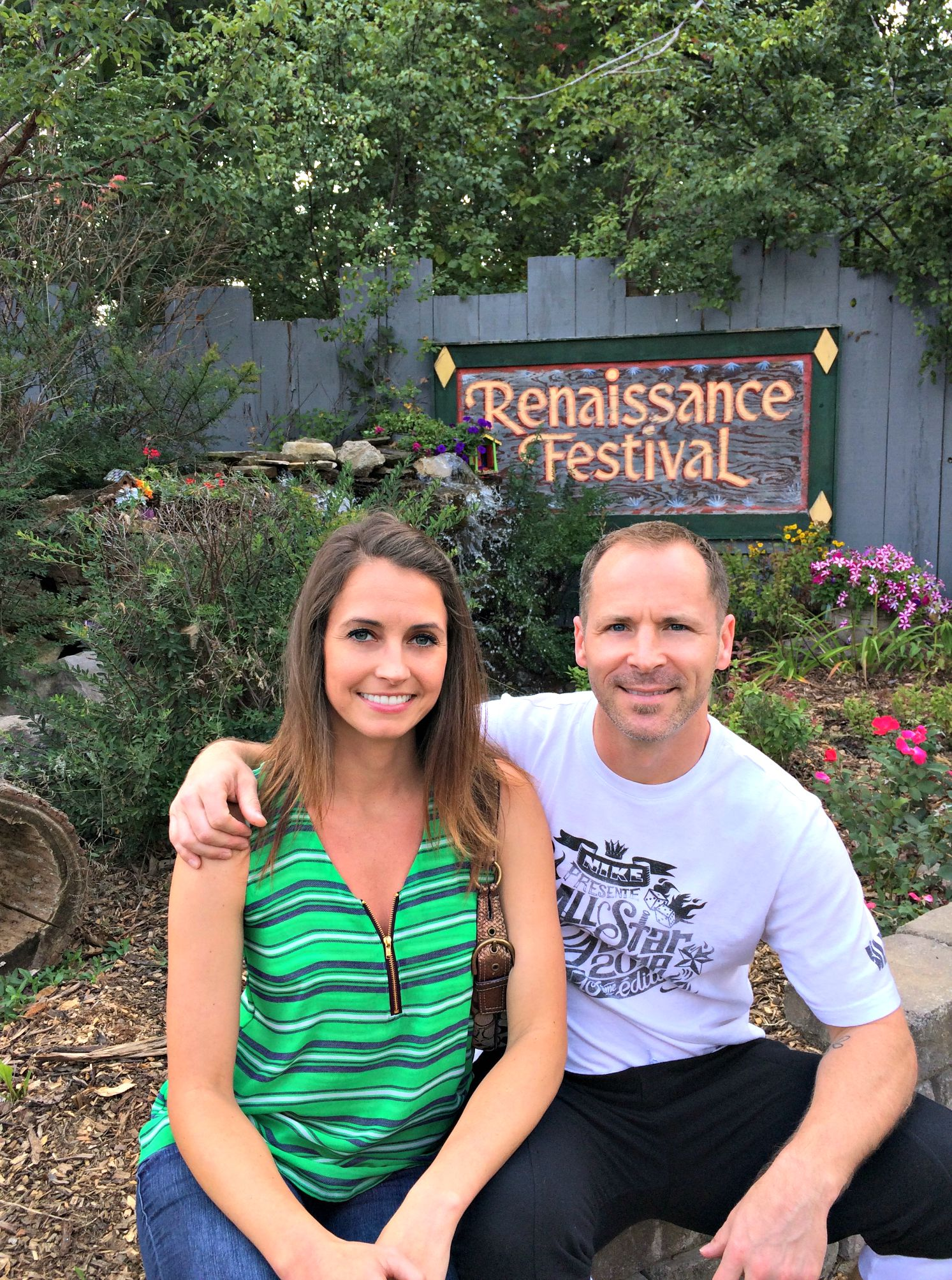 heather and scott at the renaissance festival 2015