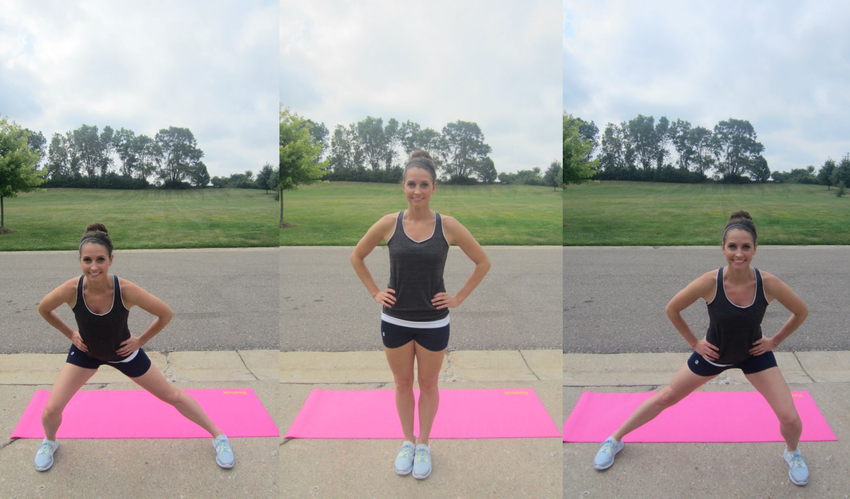 lateral lunge exercise breakdown