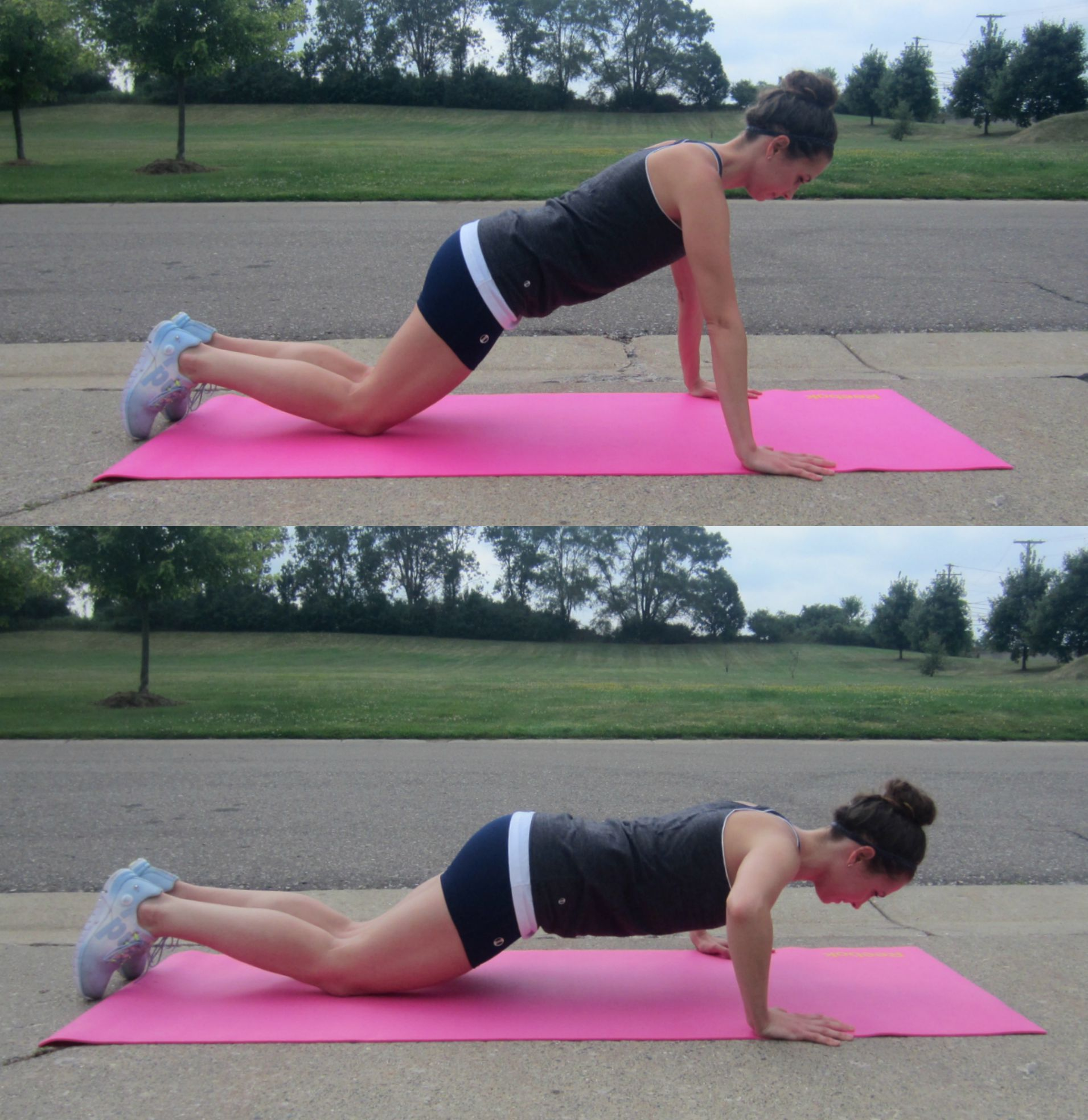 modified push up exercise