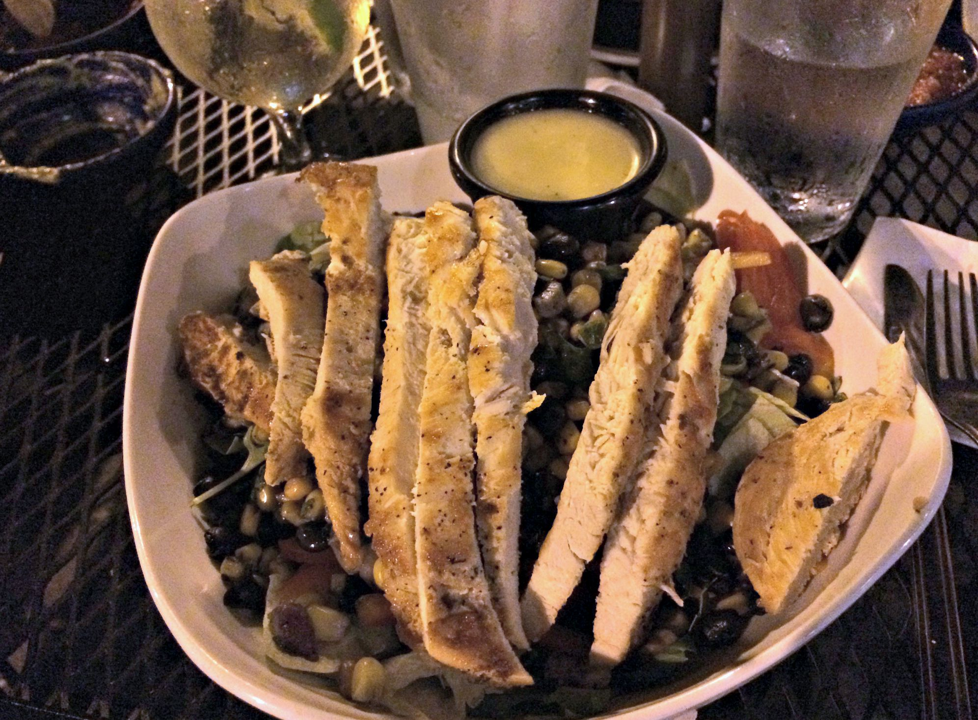 mojave low-cal chicken salad