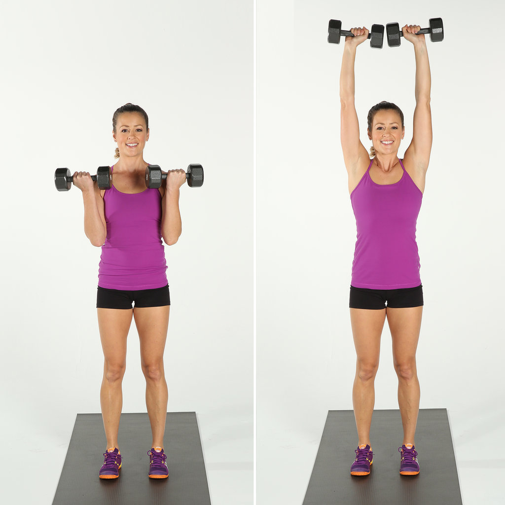 popsugar shoulder presses