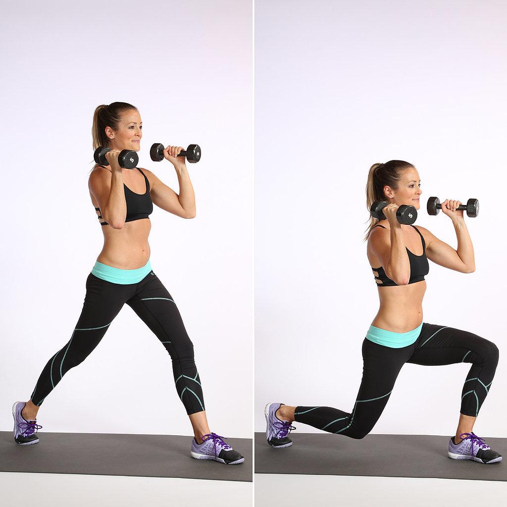 popsugar split squat