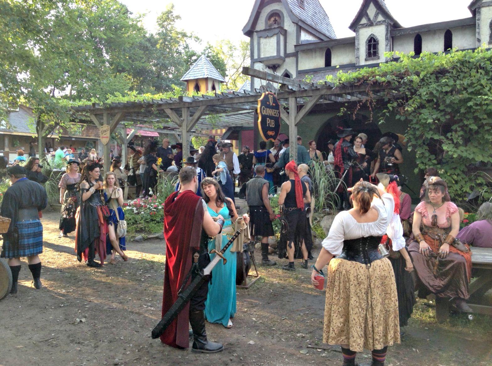 renaissance fair pub