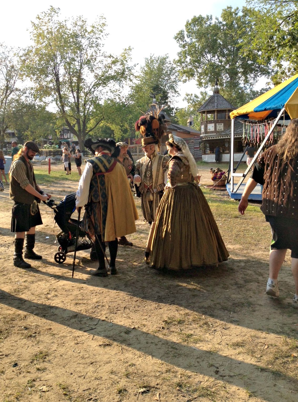 renaissance festival patrons