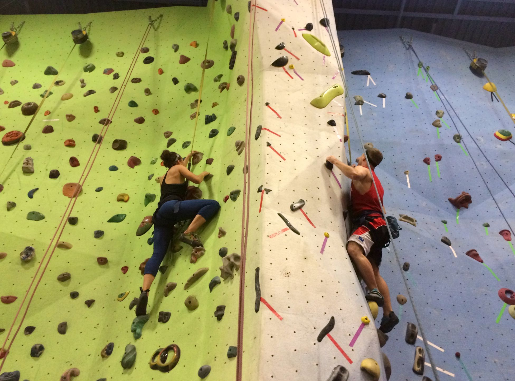 rock climbing with scott