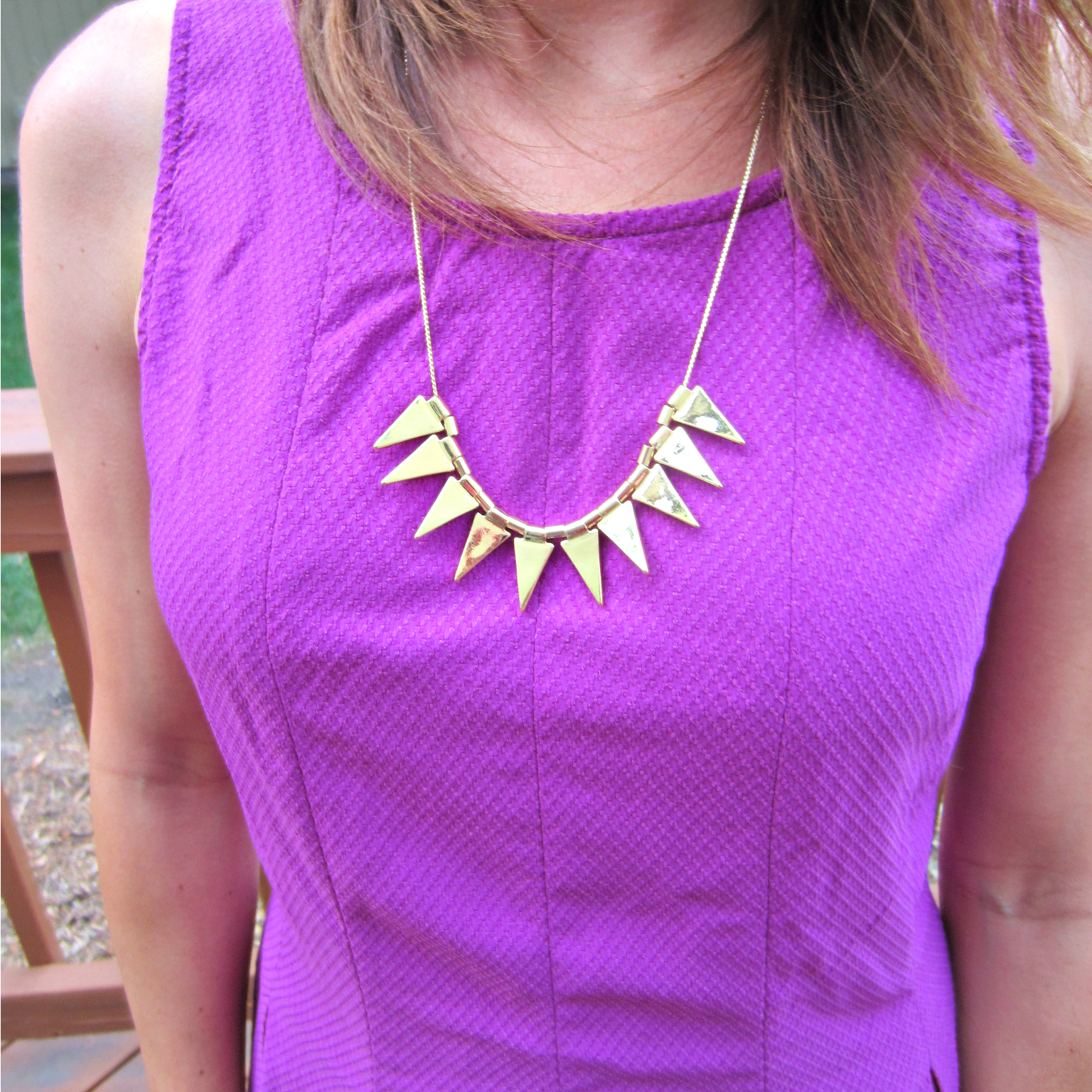 stitch fix romolo rania metal spike necklace
