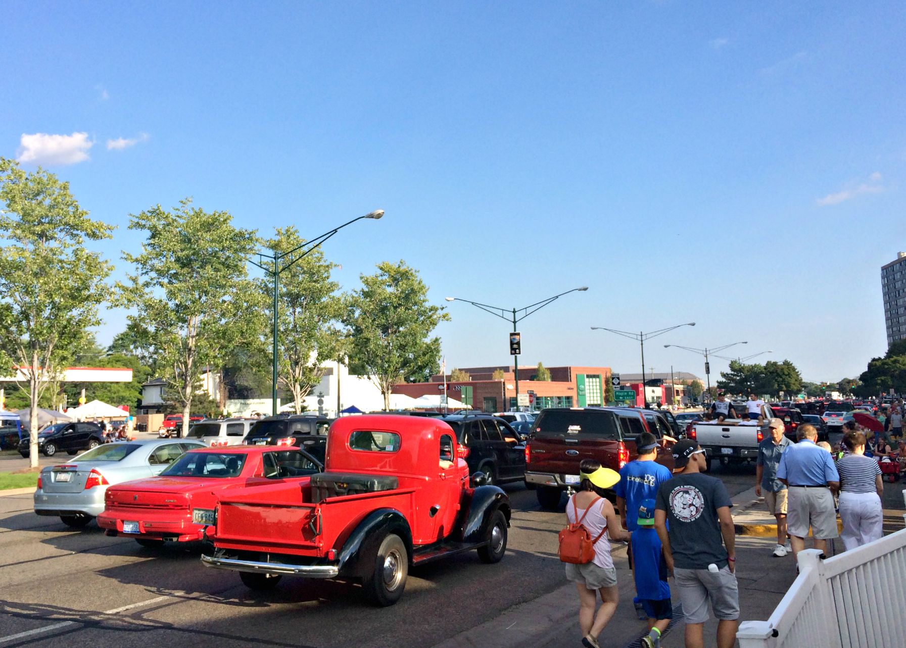 woodward dream cruise cars 2015