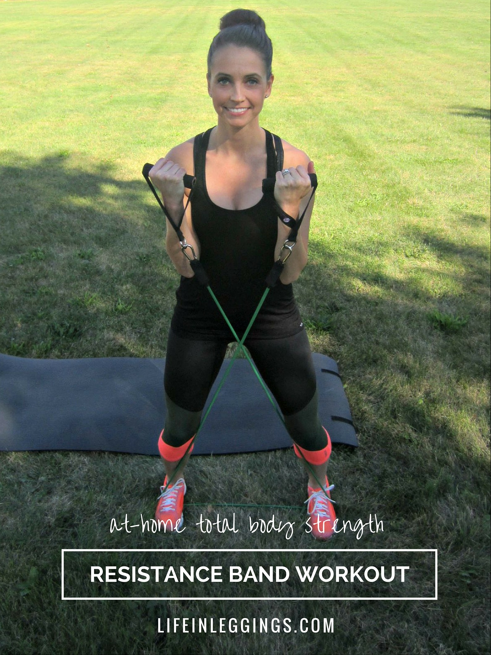 At-Home Total Body Strength Resistance Band Workout