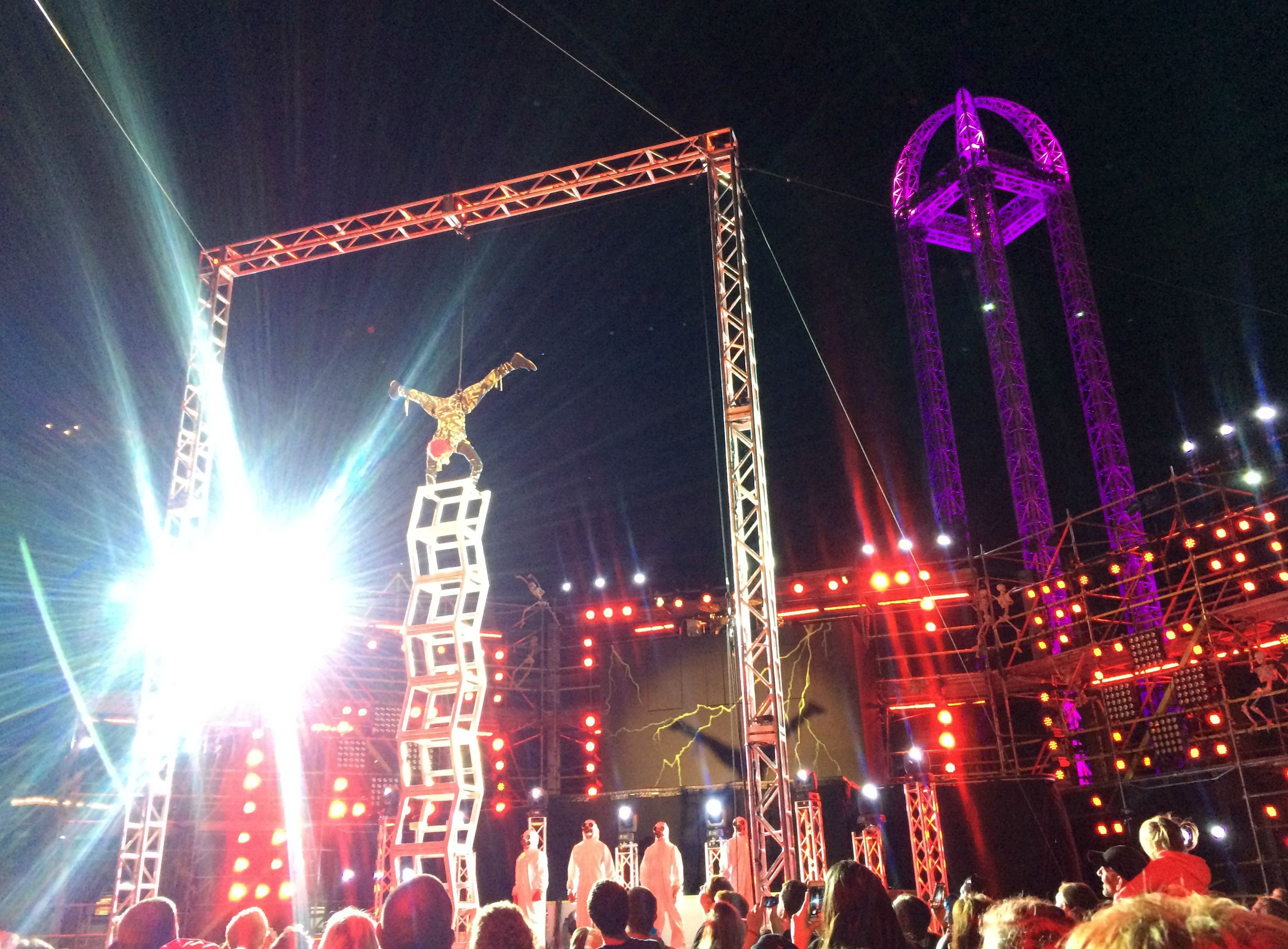Cedar Point HalloWeekends stage show