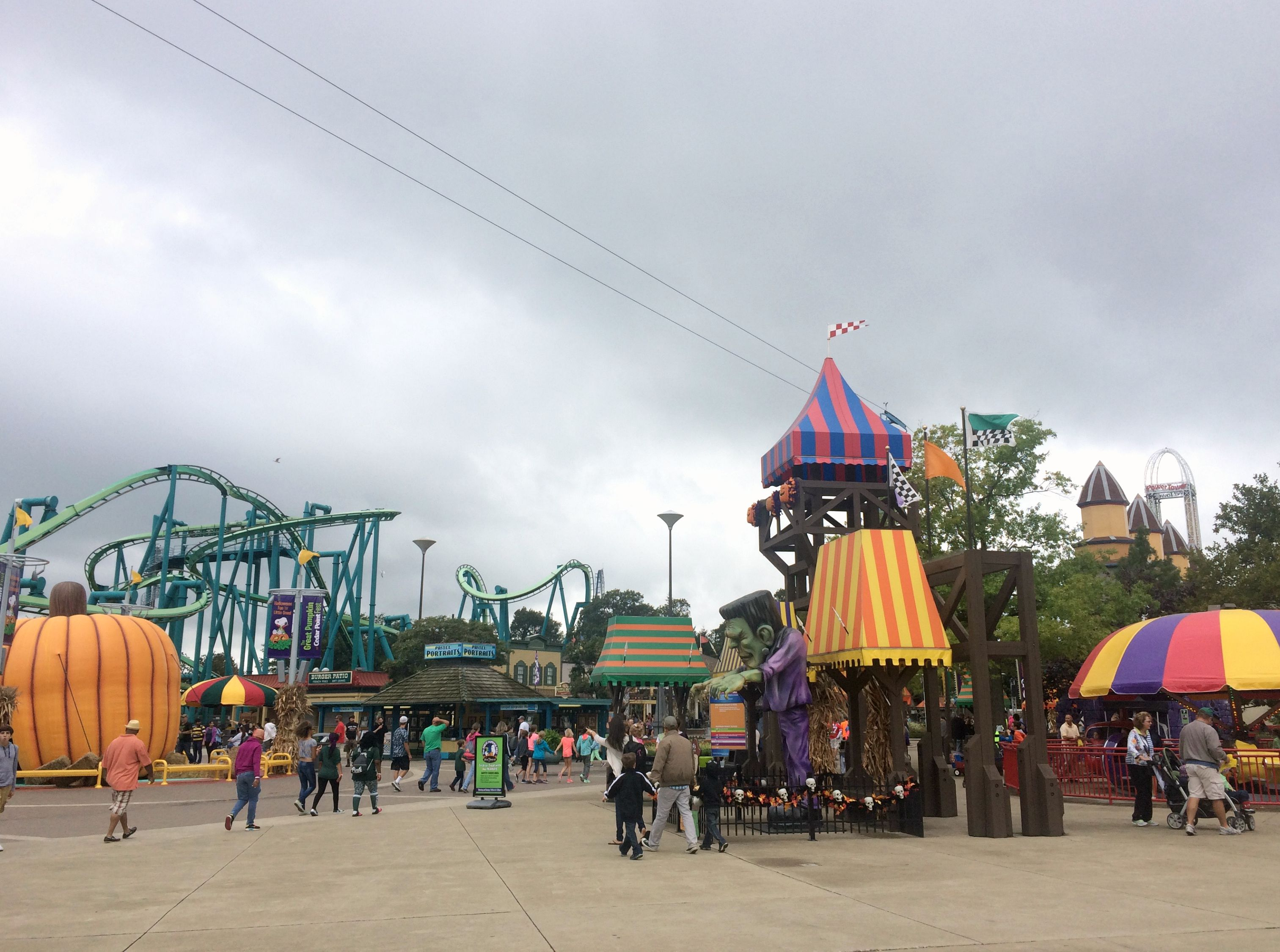 Cedar Point Halloweekends 2015